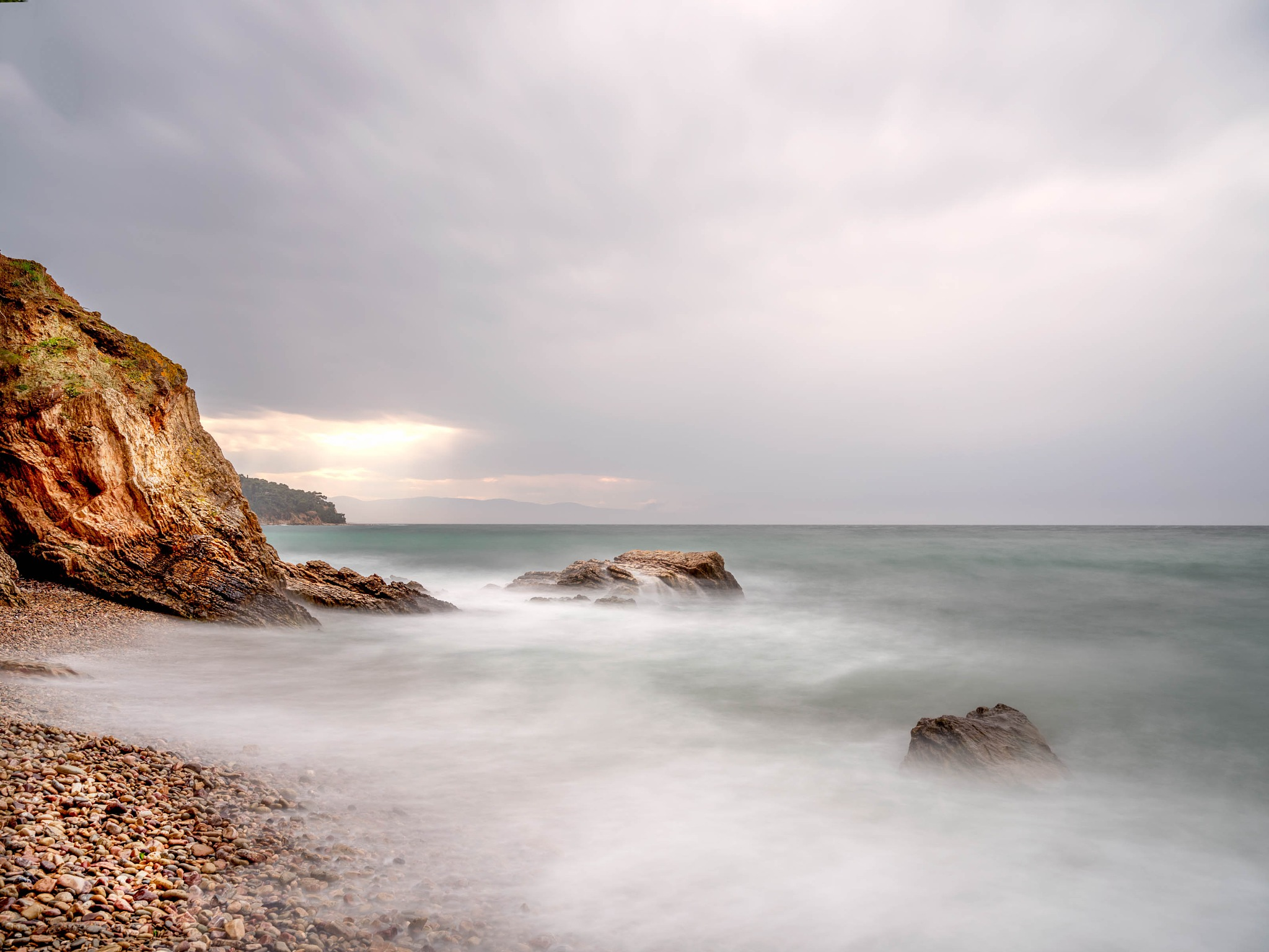 Misty Sea by cenk sarvan