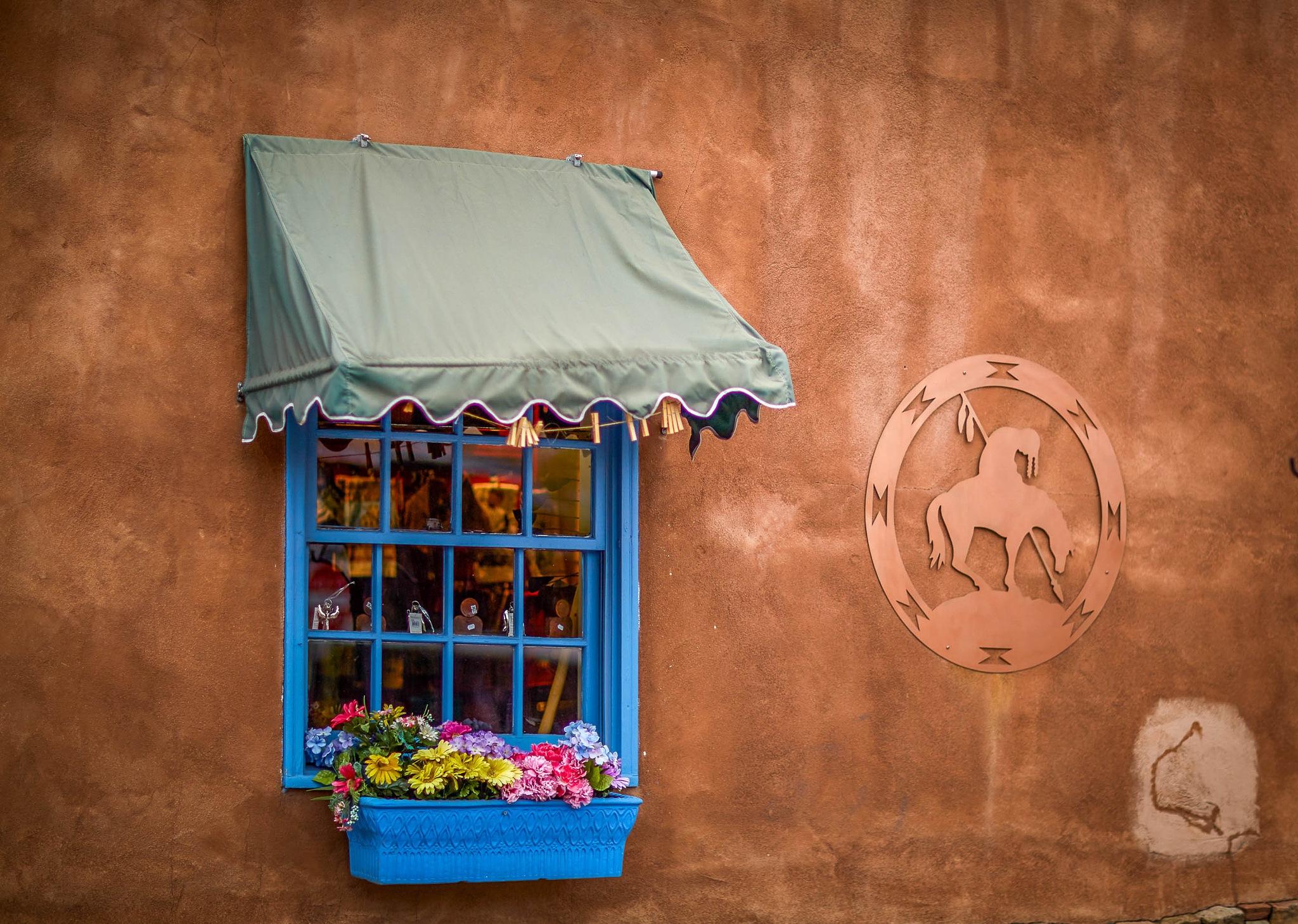 Blue Window by cenk sarvan