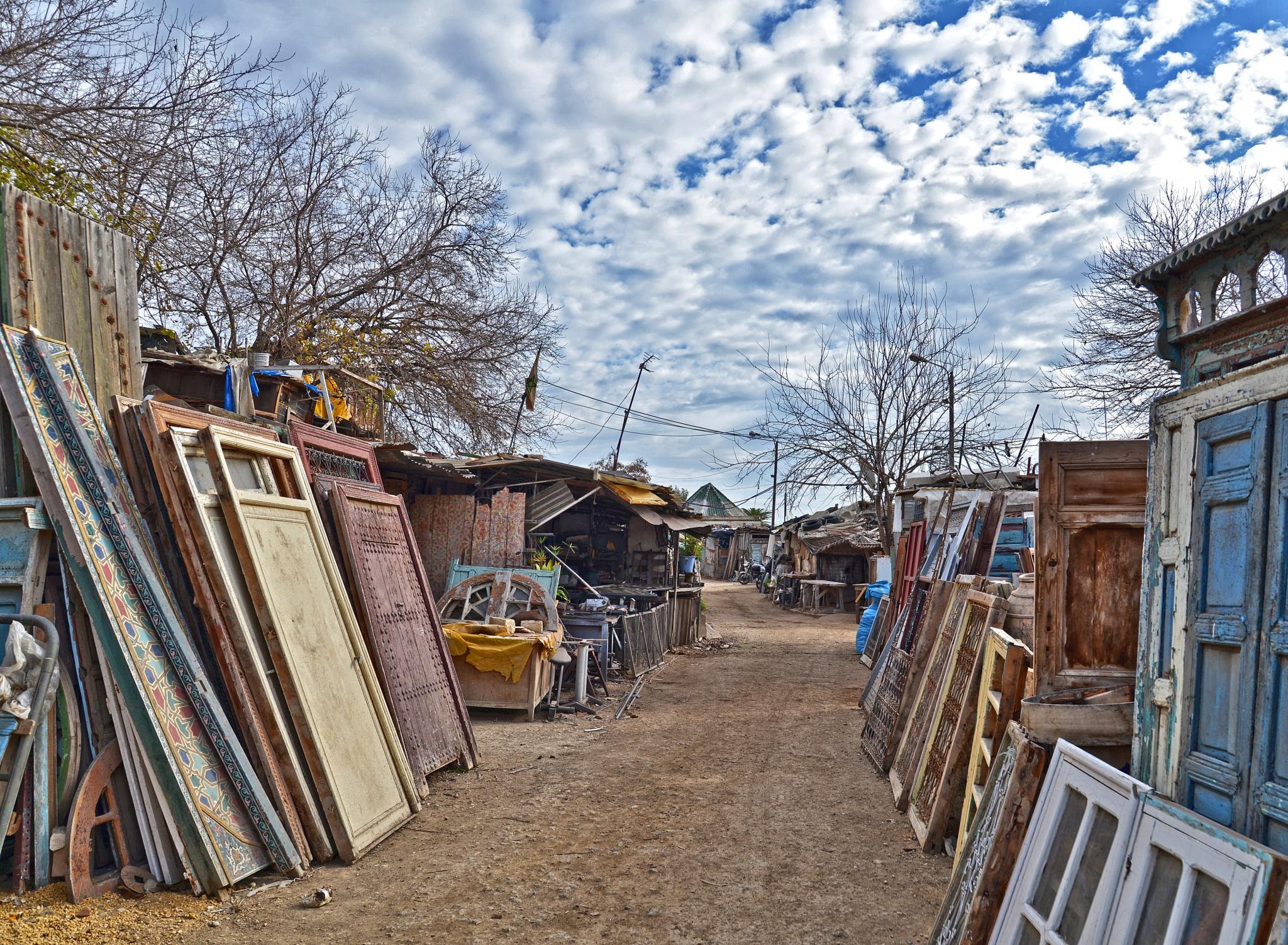 marché de bois by Moussa Idrissi-MOGRAPHE