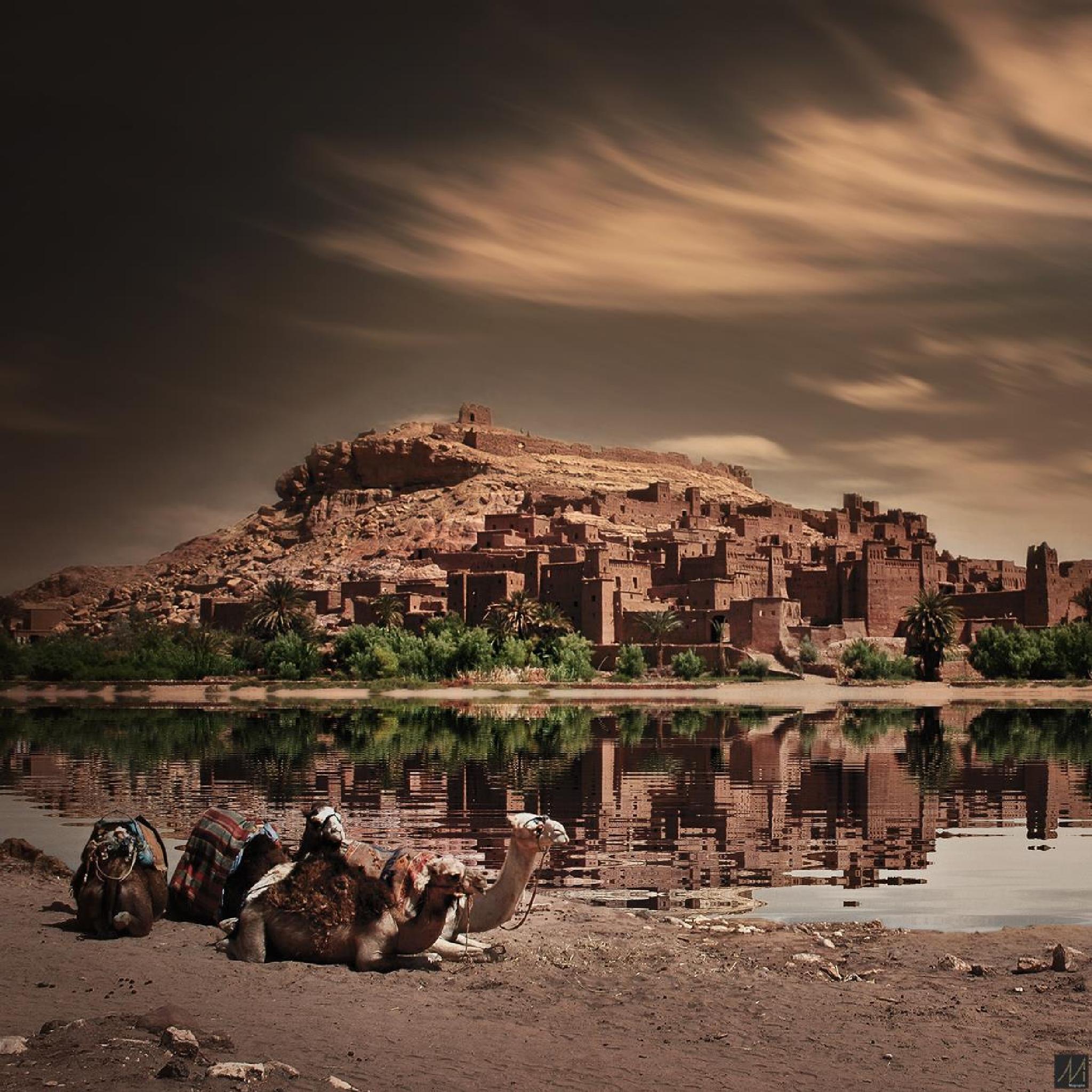 kasbah ait ben hadou / ouarzazate by Moussa Idrissi-MOGRAPHE
