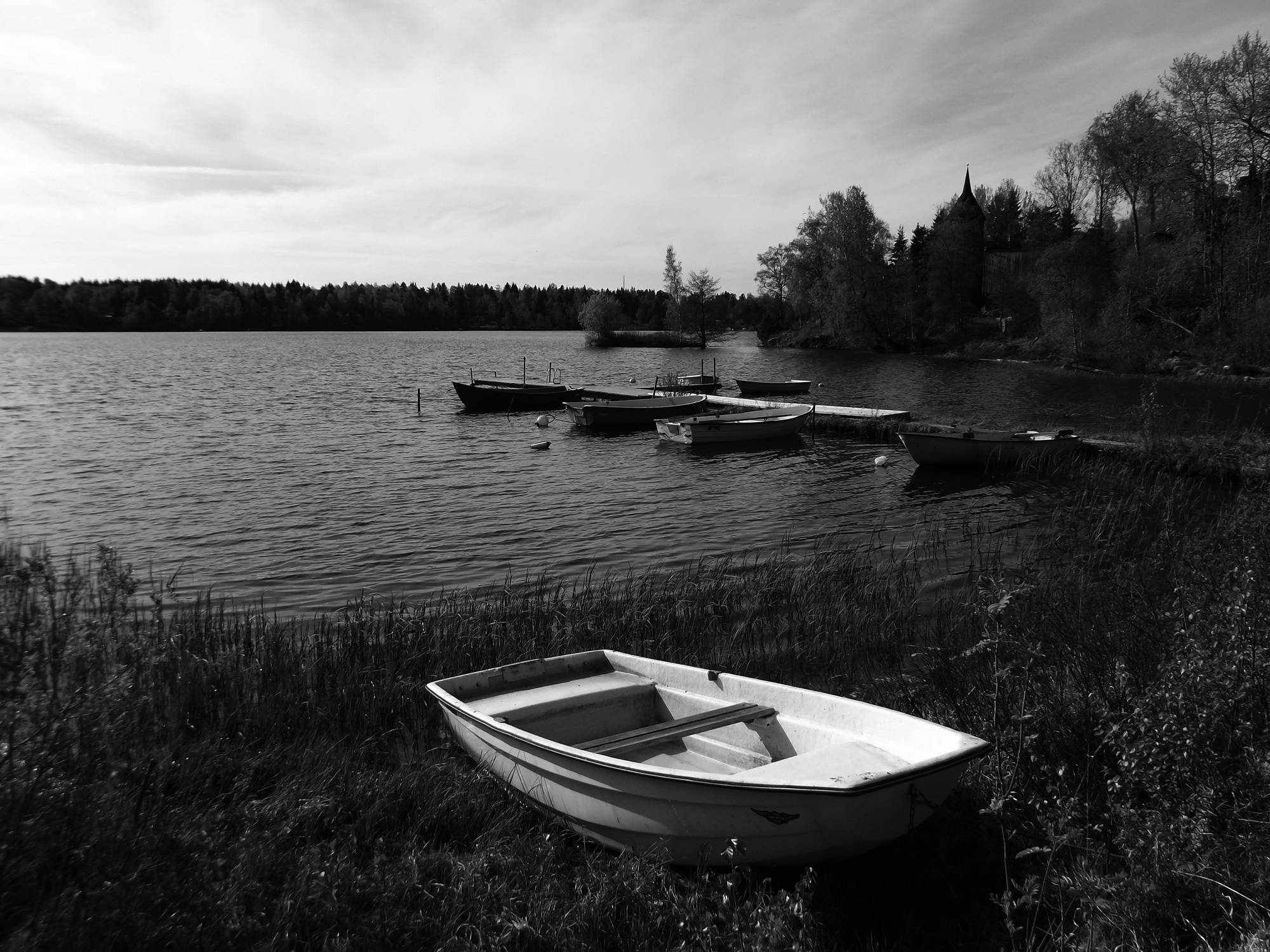Boats by Mikael Jacobsson