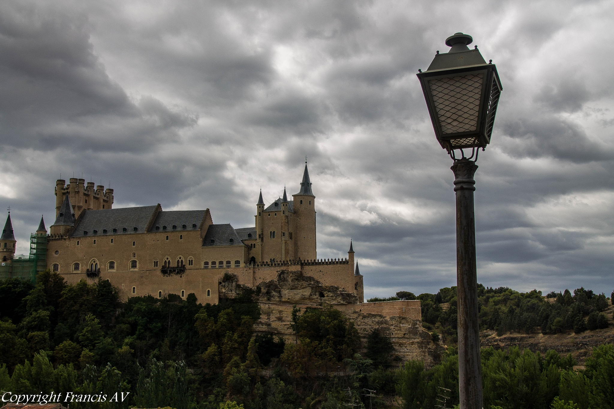 Alcazar of Segovia, Spain  by Francis AV