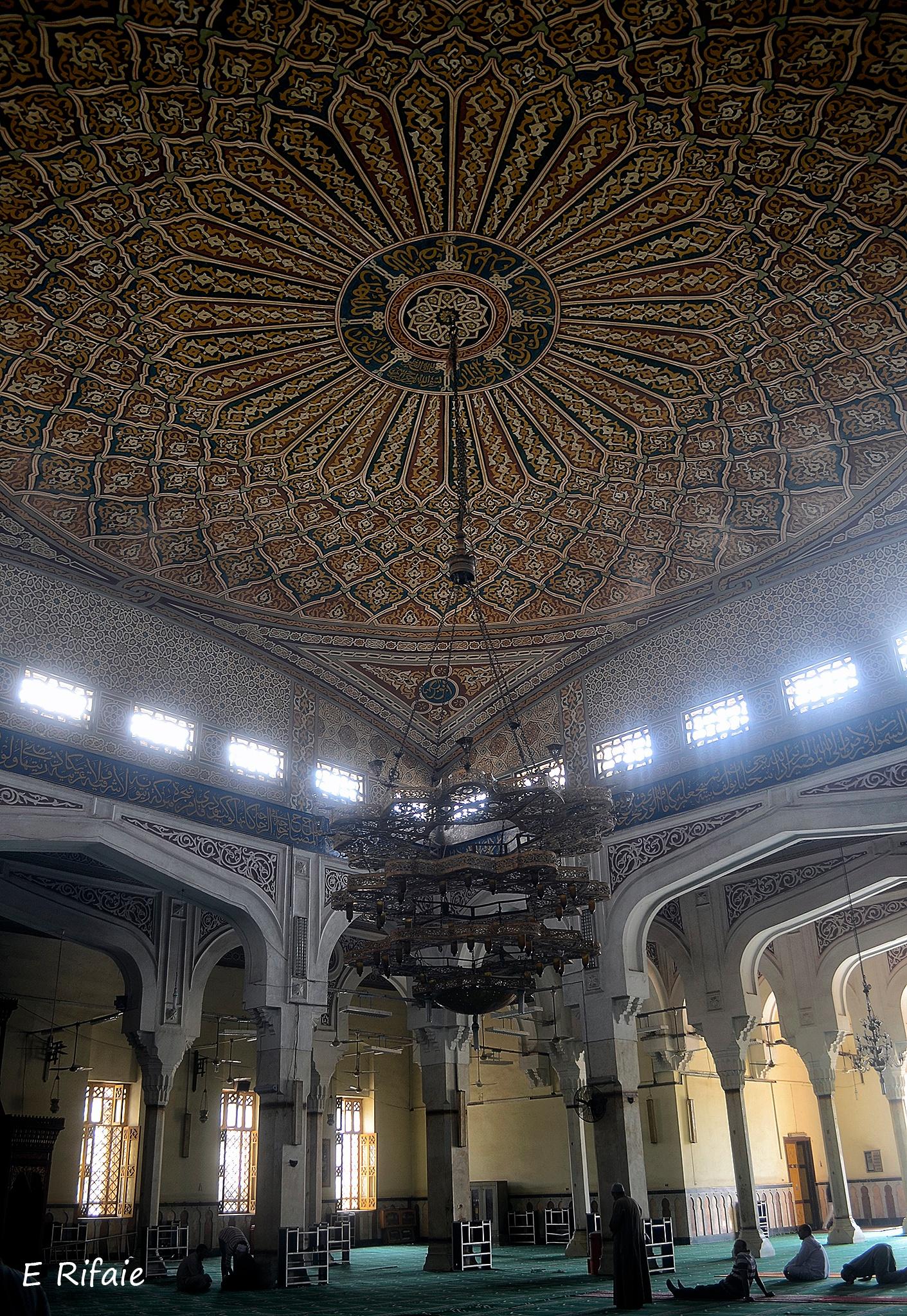 Iberaheem el Desouky mosque by Emad Eldin Moustafa El Refaie