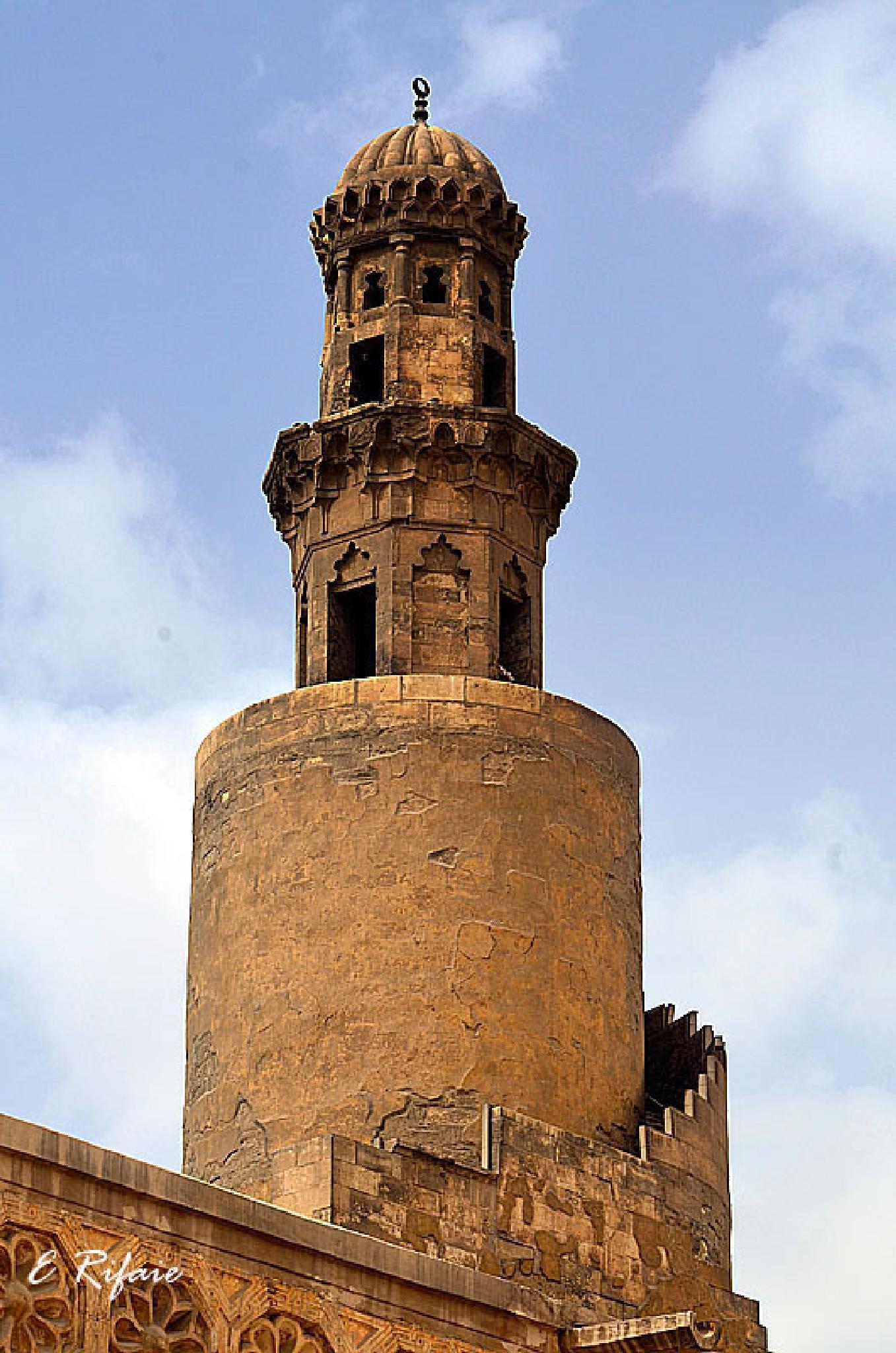 Ebn Tulun mosque by Emad Eldin Moustafa El Refaie