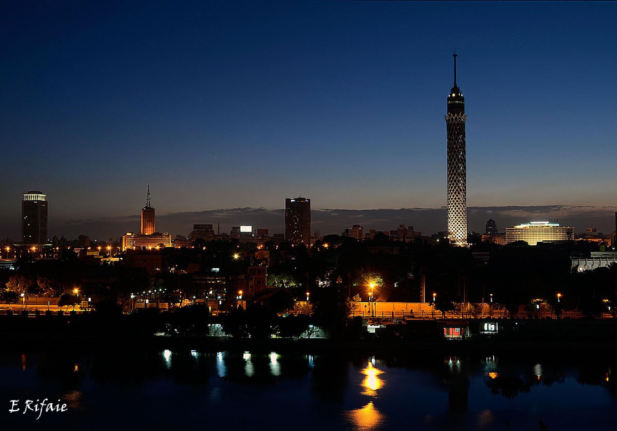 Cairo night by Emad Eldin Moustafa El Refaie