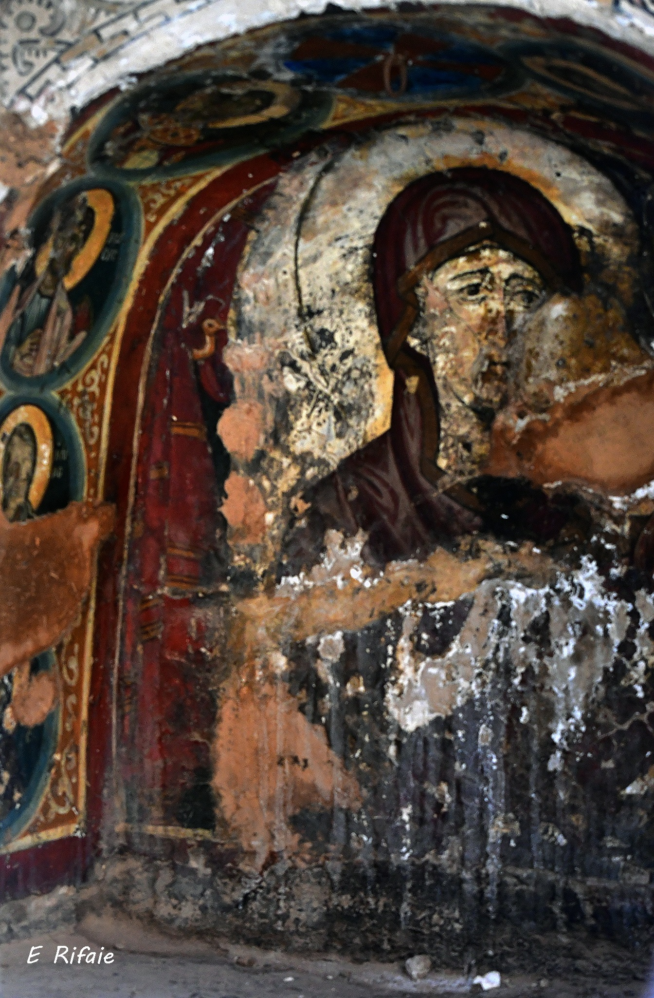Icon of Saint Catherine's Monastery by Emad Eldin Moustafa El Refaie