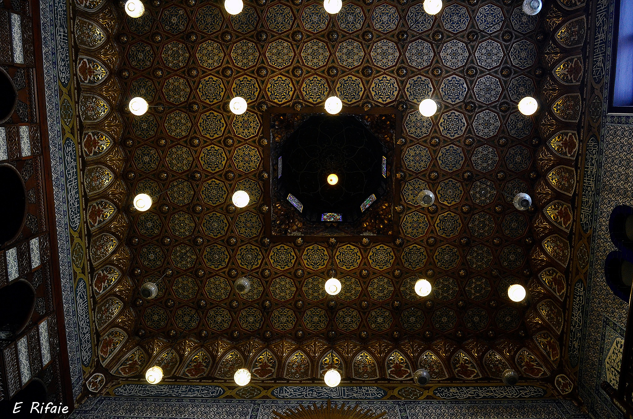Ceiling of Mohamed Ali palace by Emad Eldin Moustafa El Refaie