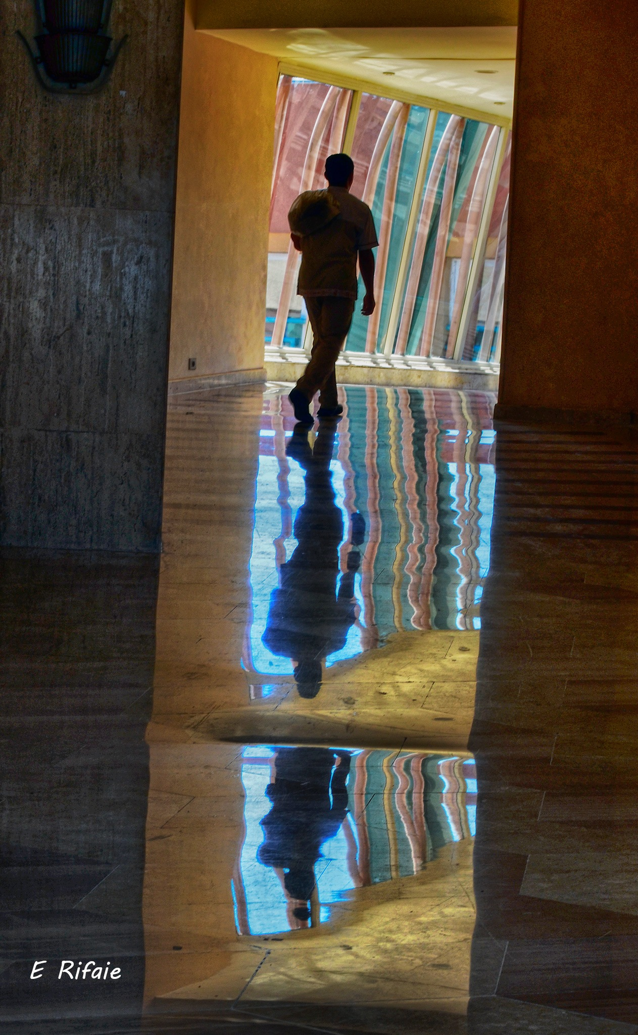 Shadows and reflection by Emad Eldin Moustafa El Refaie