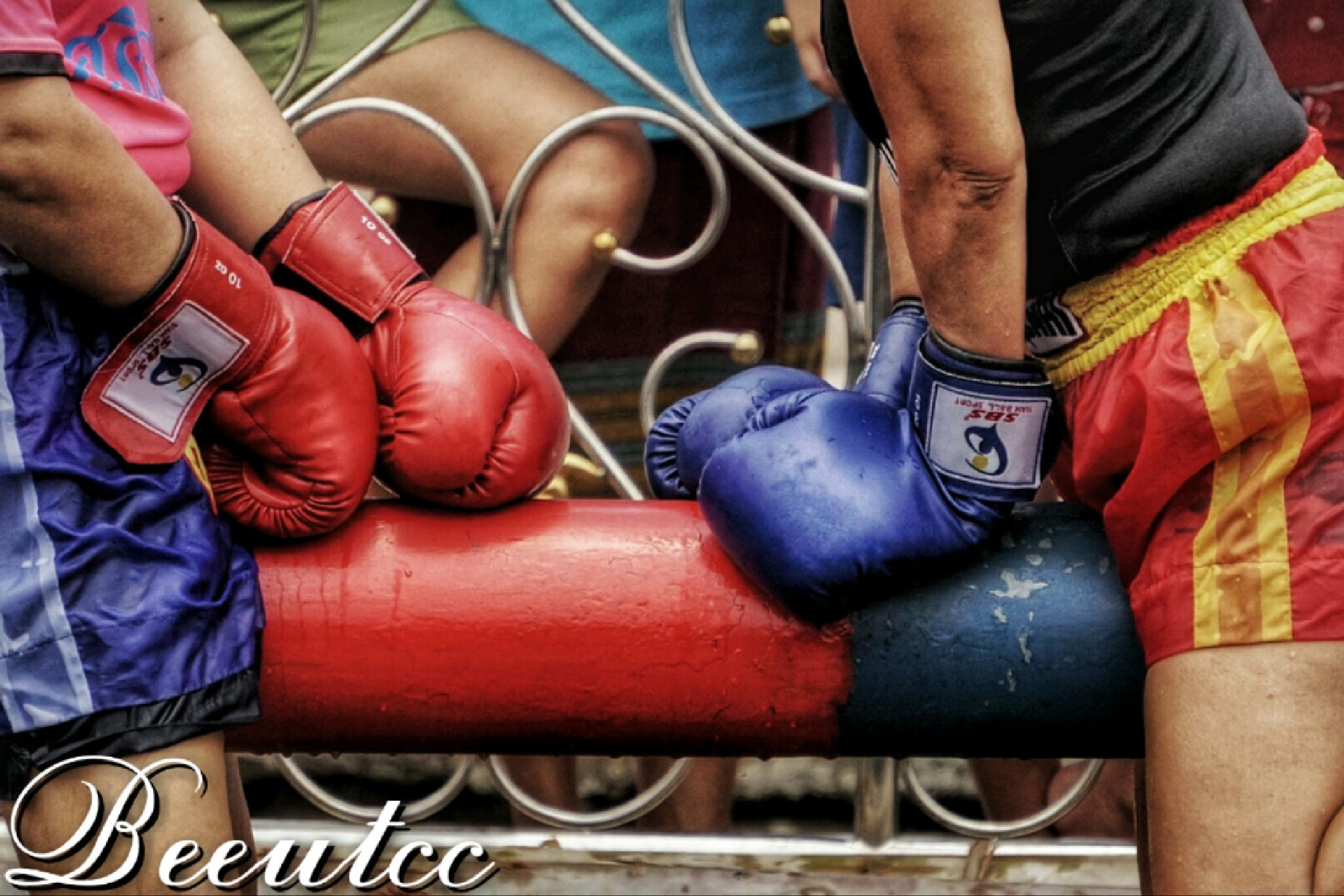 Get in the ring by Natthawut Meesri