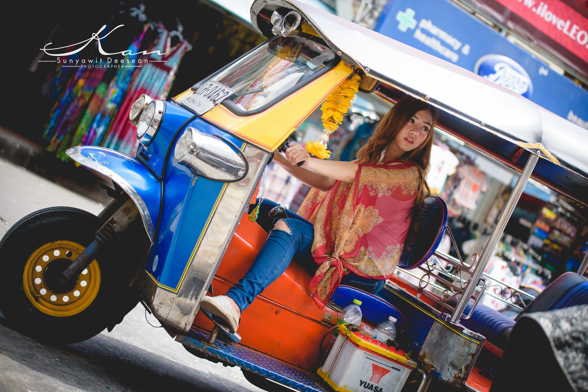 Tuk Tuk Rider by Sunyawit D.