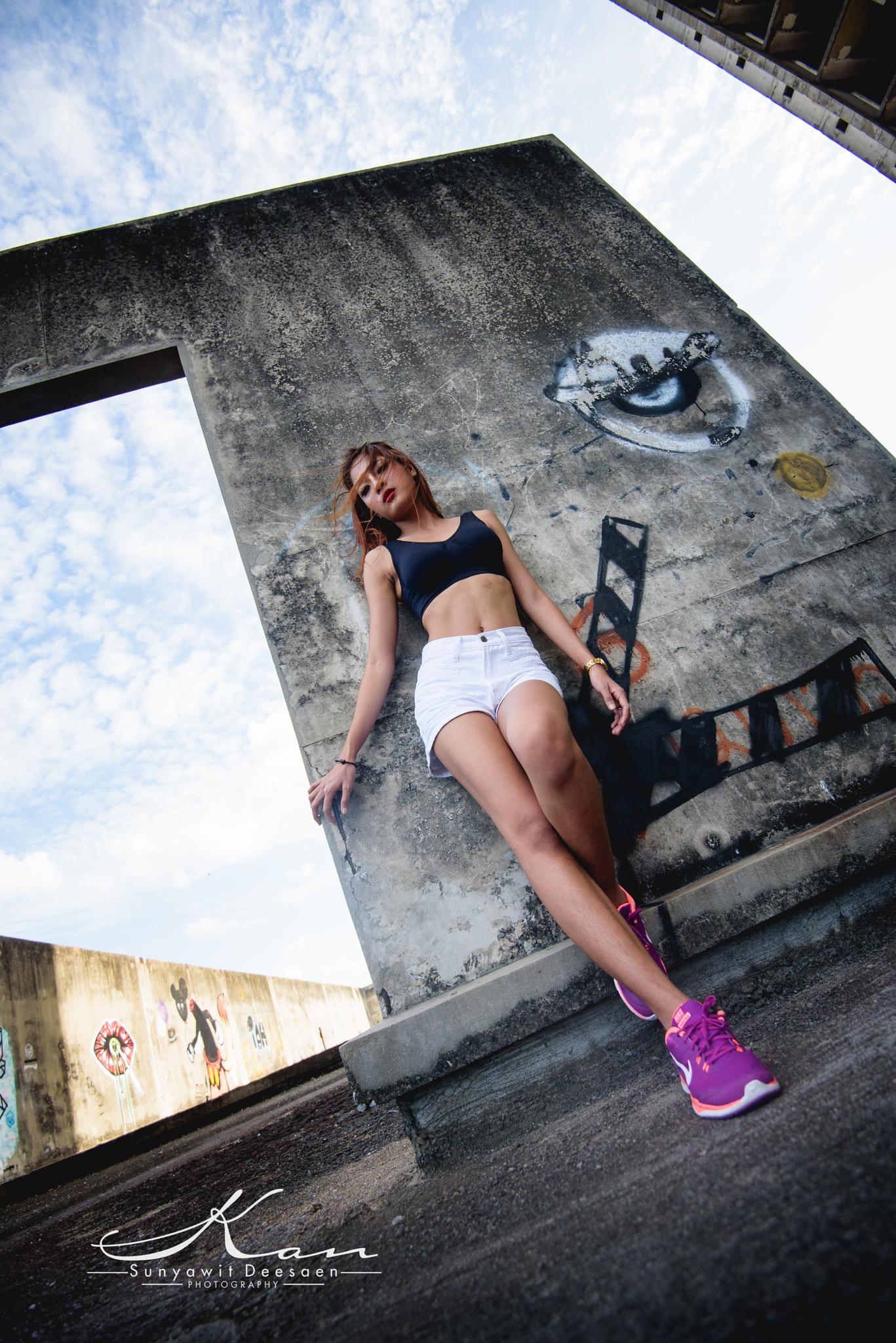 Photo in Portrait #sport girl #woman #portrait