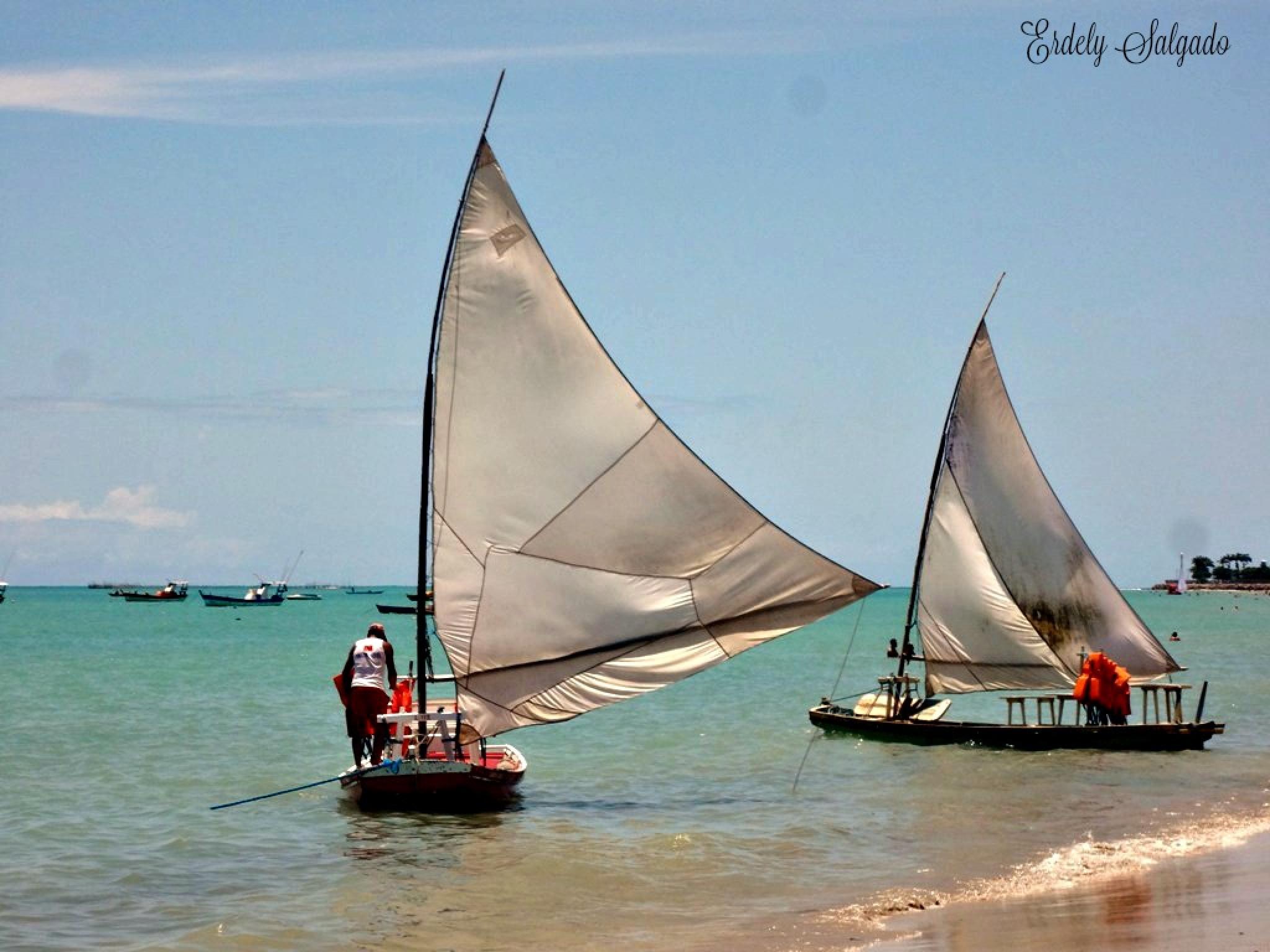 Praia de Pajuçara-Maceió-Alagoas!! by ErdelySalgado