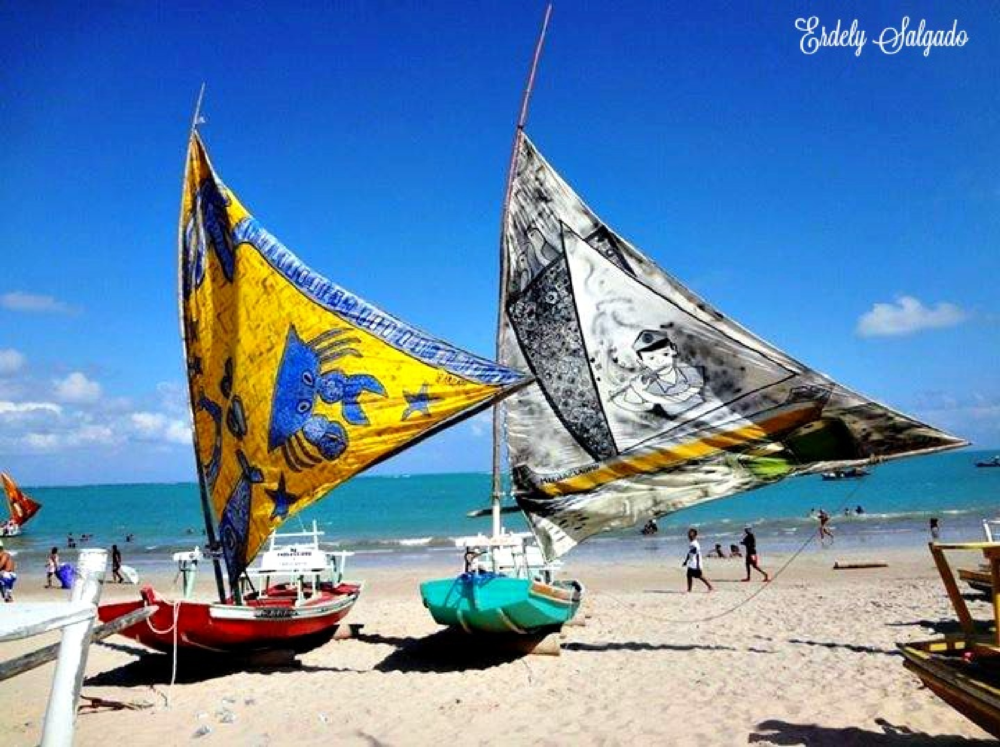 Praia de Pajuçara-Maceió-Alagoas!!! by ErdelySalgado