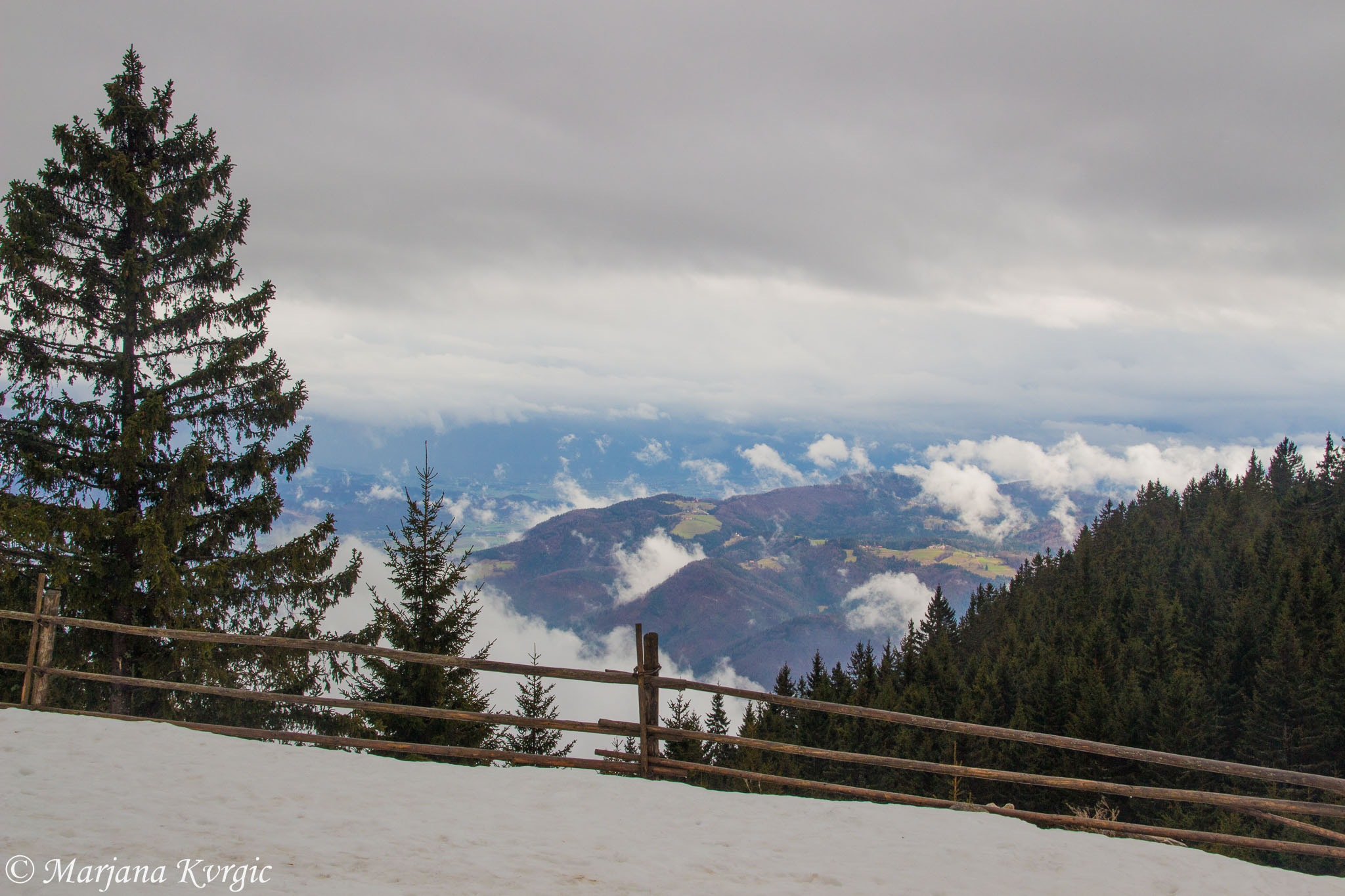 View from mountin Golte by mpincoli