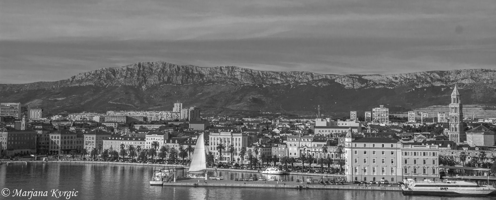 View of Split port by mpincoli