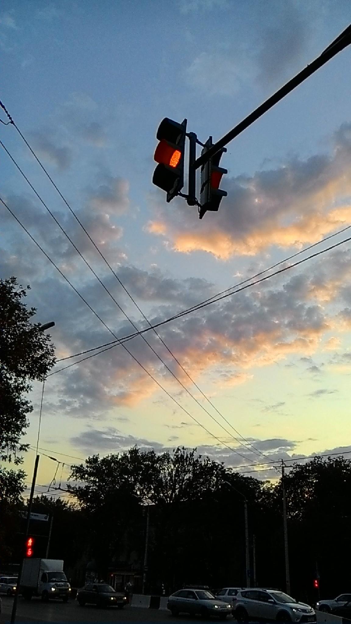 Evening lights by manuta