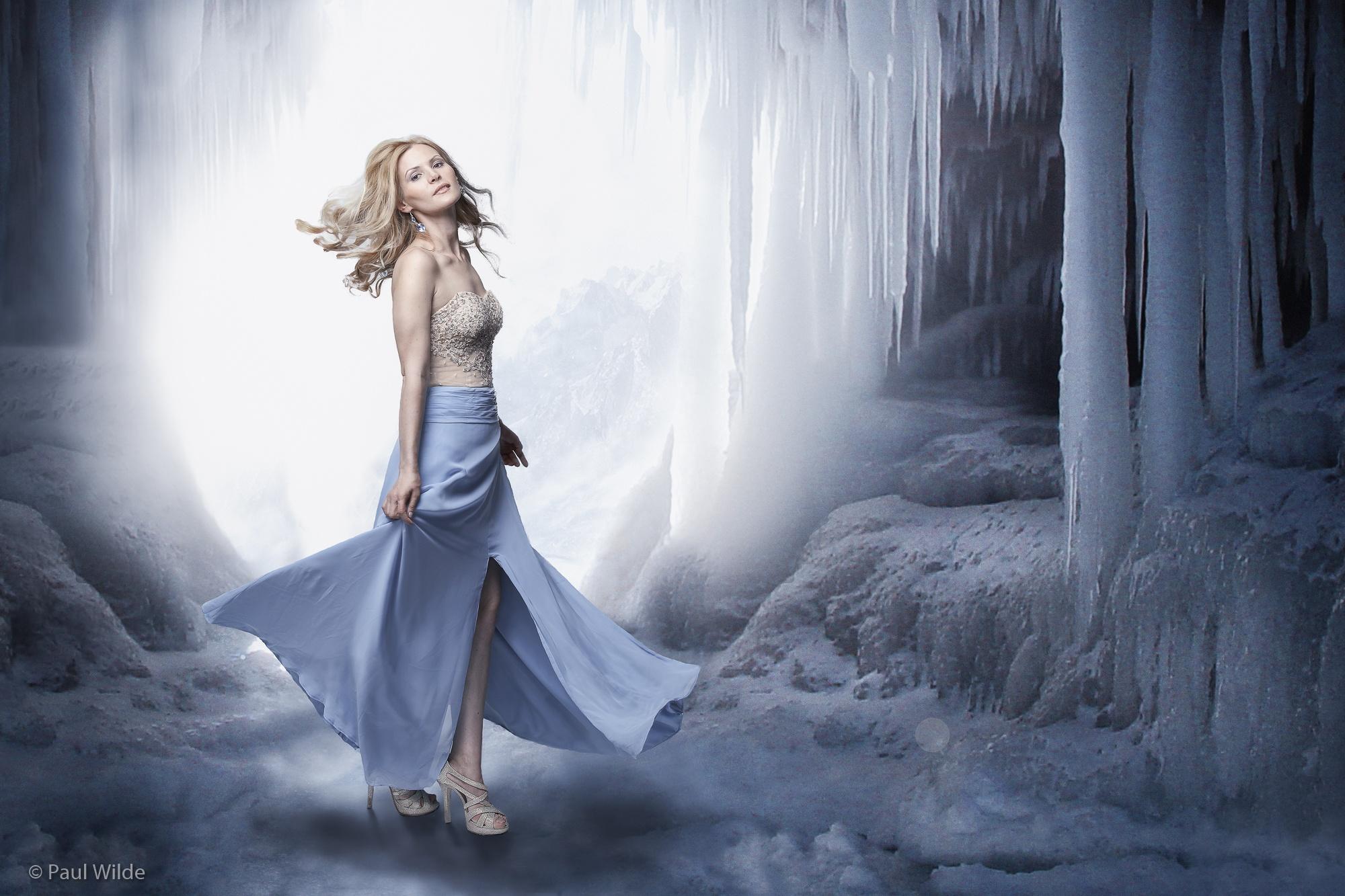 Ice Cave by P A U L W I L D E
