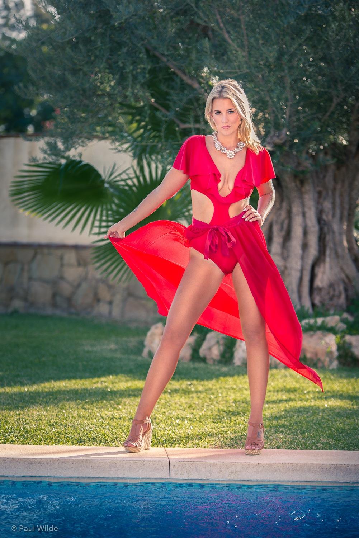 Lauren in Red by P A U L W I L D E