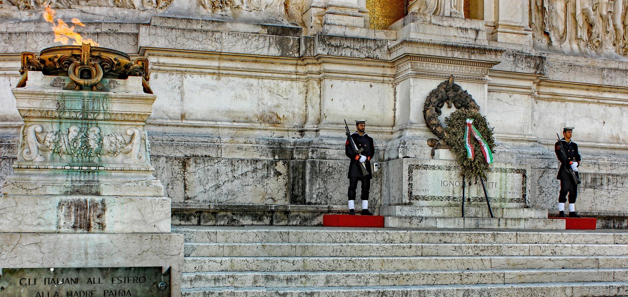 Altare della Patria by silvestro cappellini