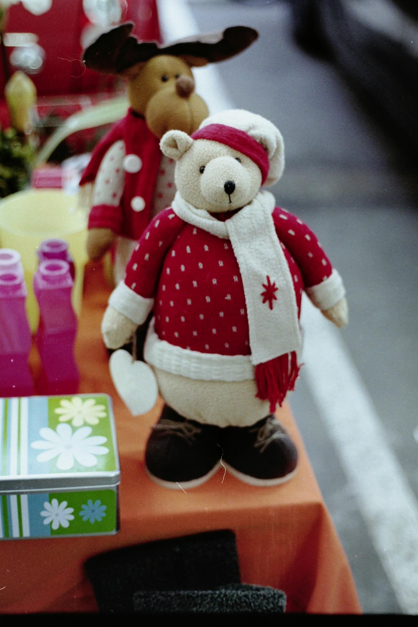 jingle bear by mapetermayer