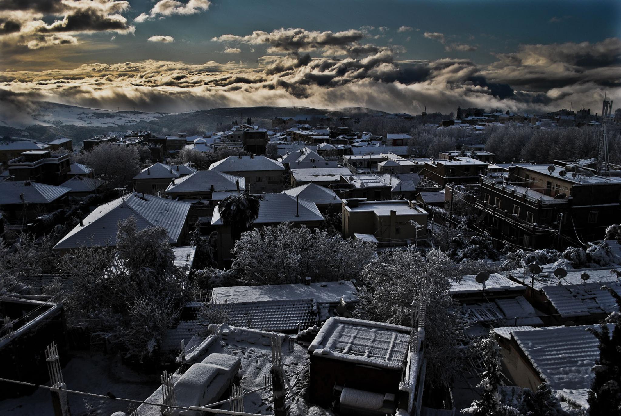 Miliana city by kamoononthemoon