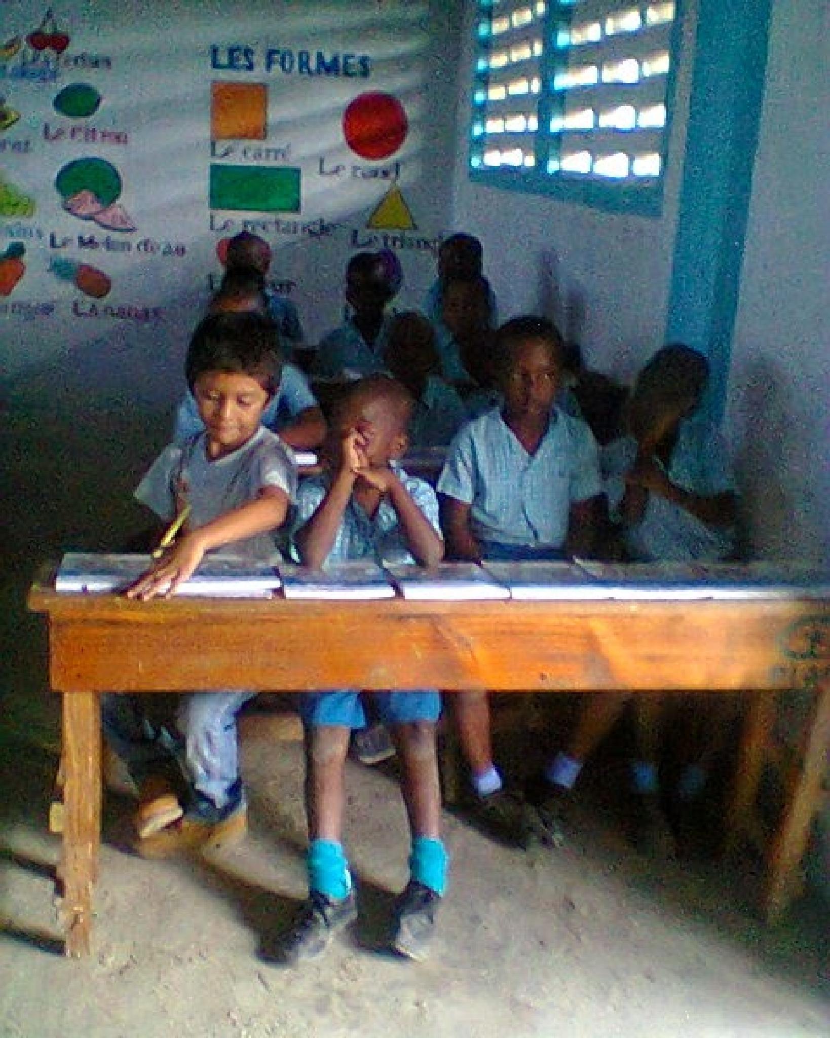 At school by Tirsa Jean Mazariegos