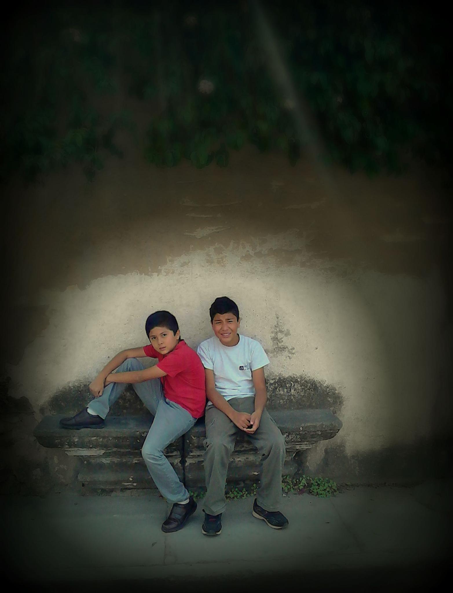 My sons by Tirsa Jean Mazariegos