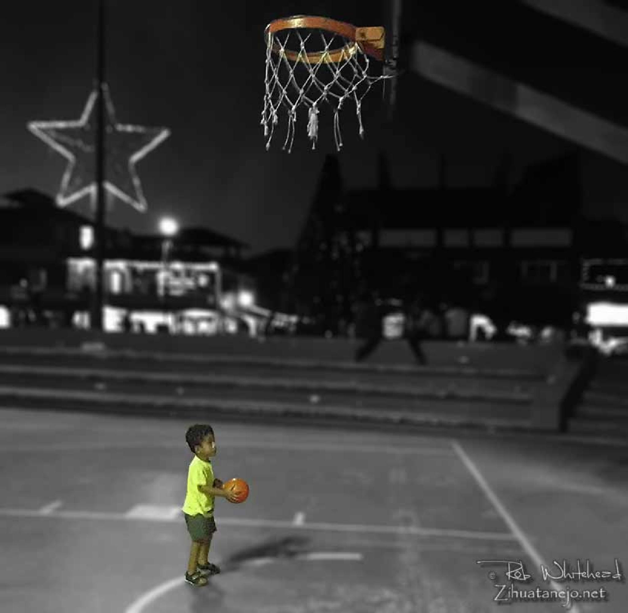 High Hopes Hoop by Rob Whitehead