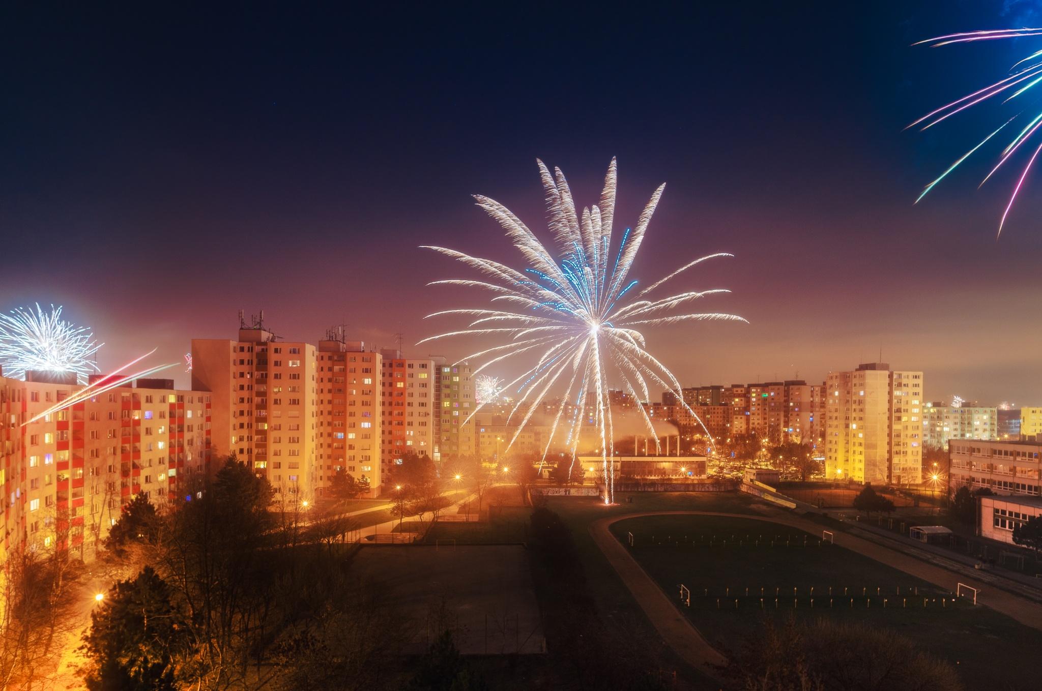 Local fireworks by sue nagyova