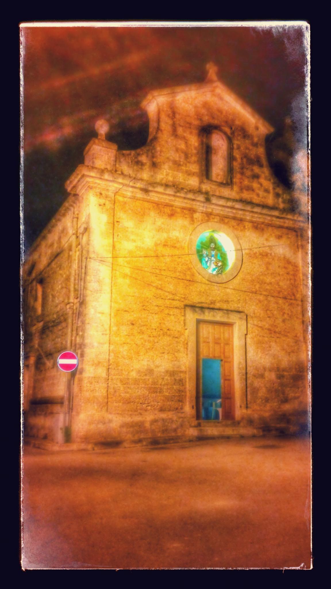 vecchia chiesa by Angelo