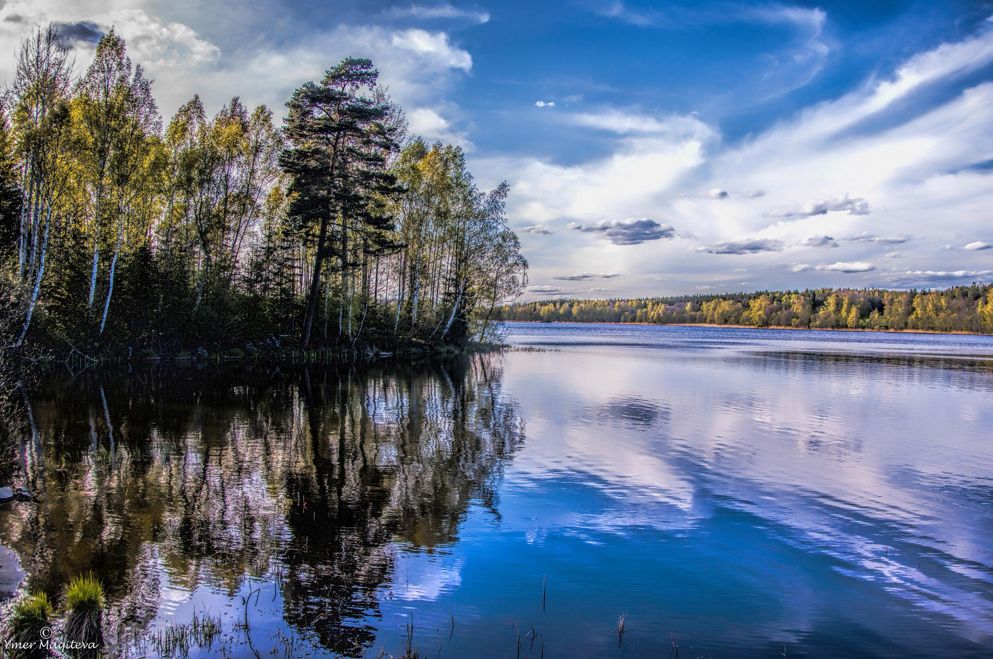 Lake by Ymer