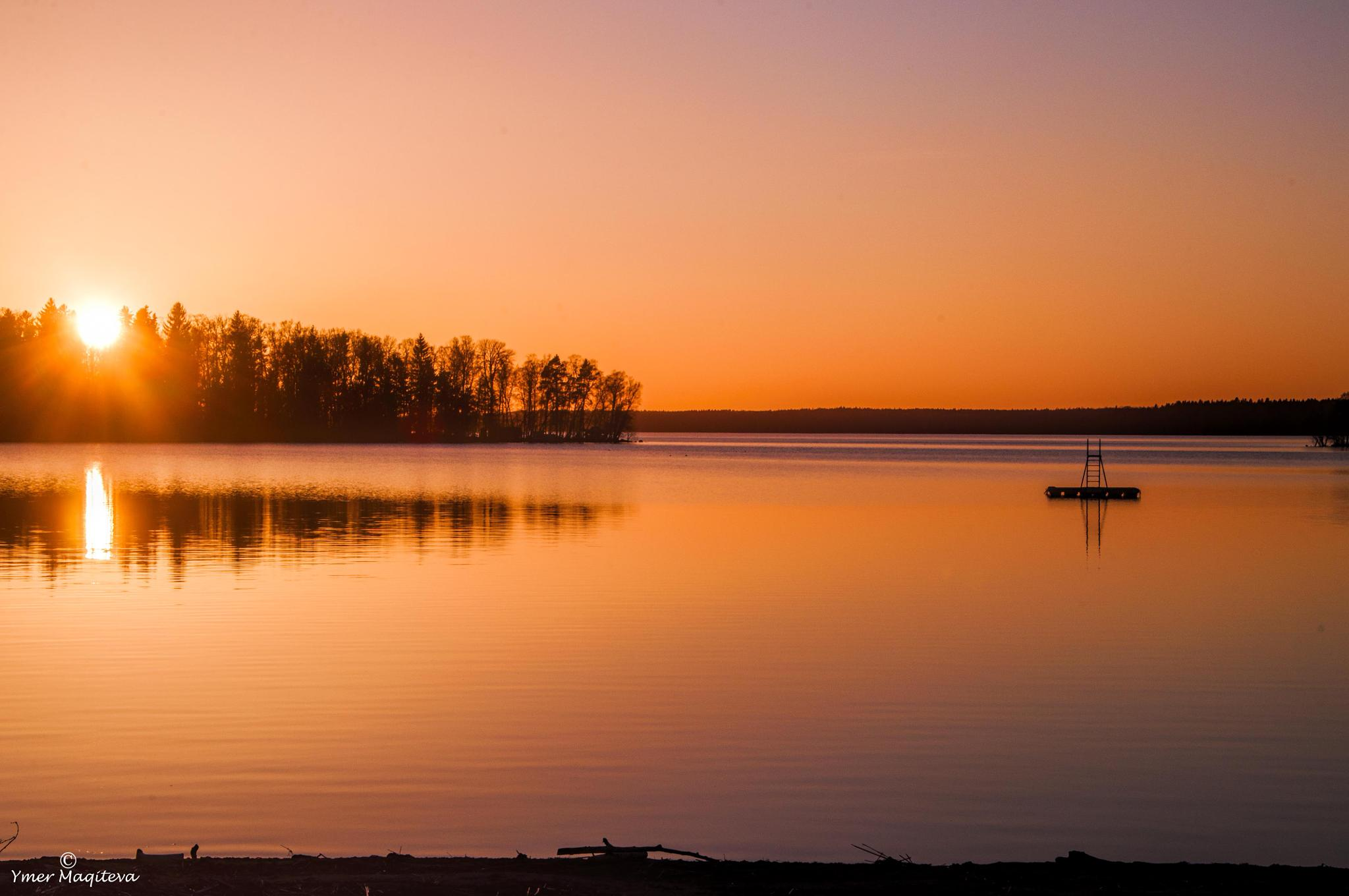 Sunset ,,, by Ymer