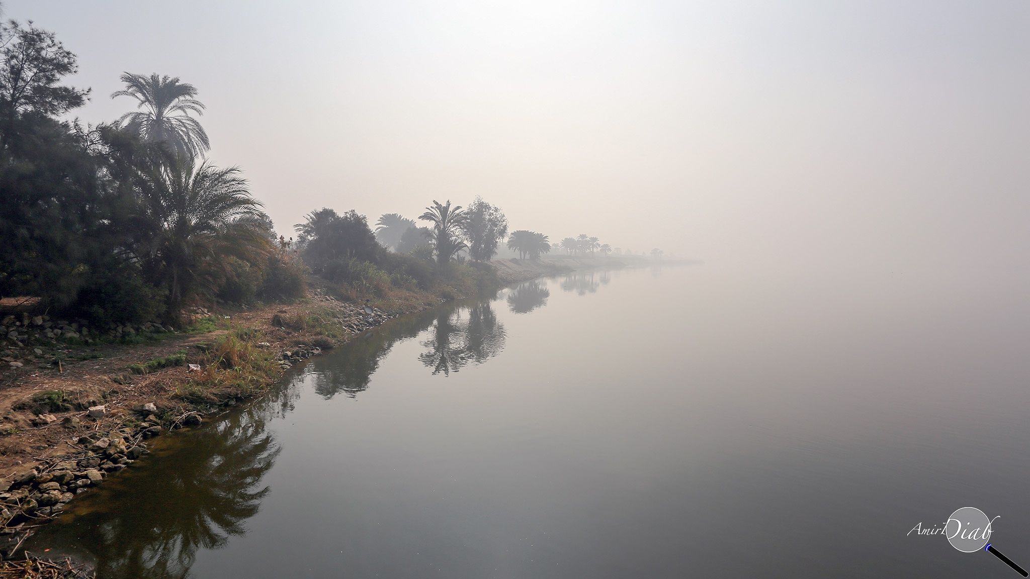 The Great Nile River by Amir Diab