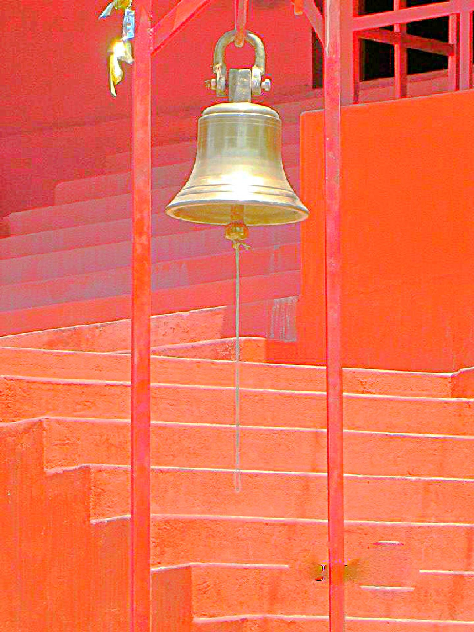 Temple Bell by Pooja Jhammb