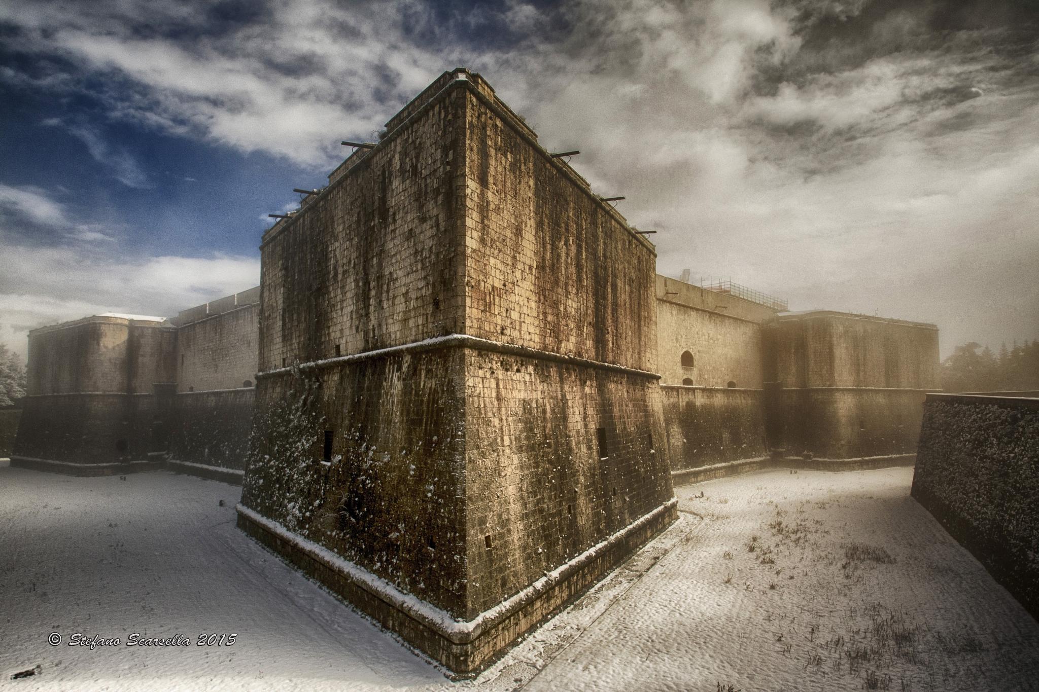 Castello di L'Aquila by Stefano