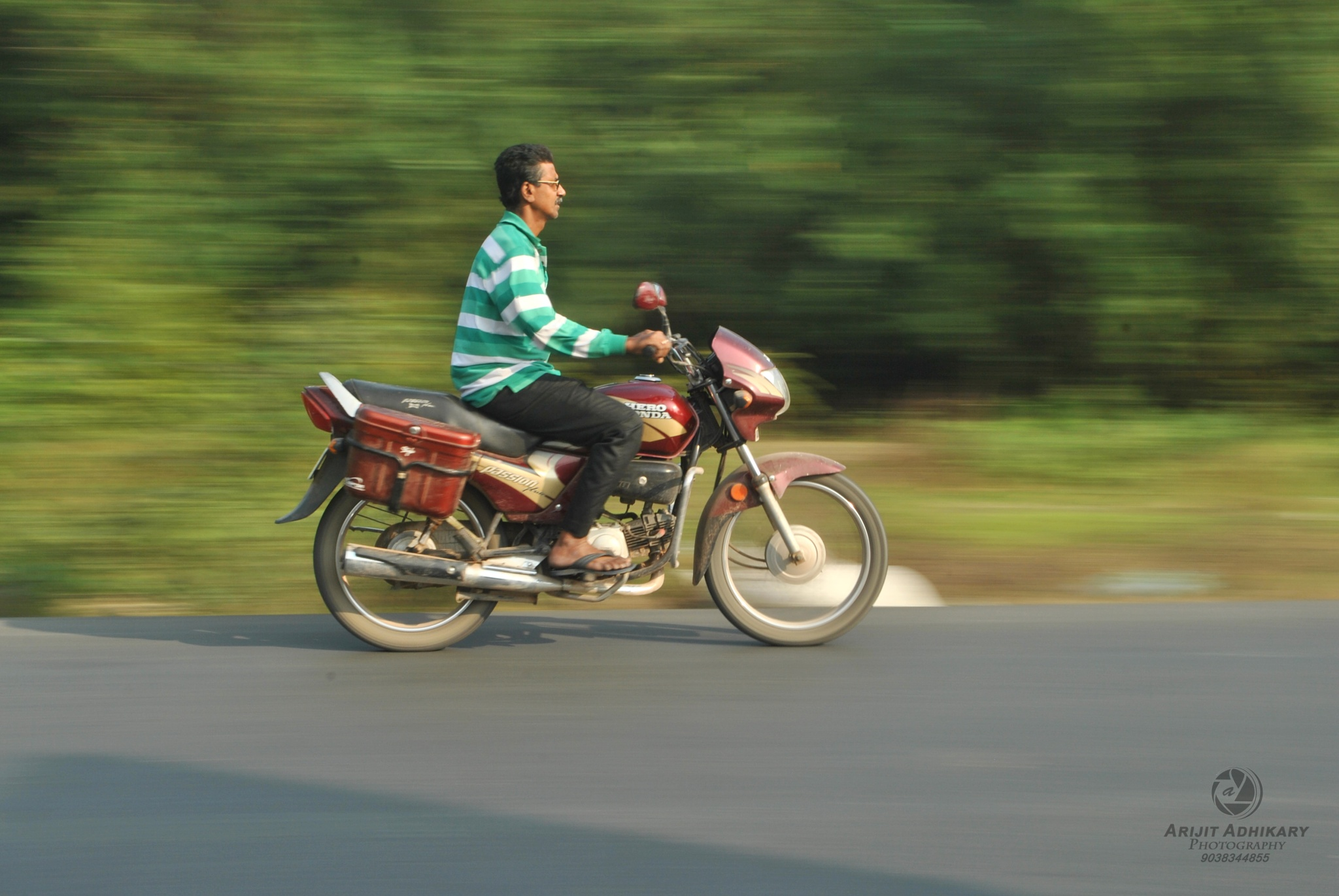 The Local Speedster by Arijit Adhikary