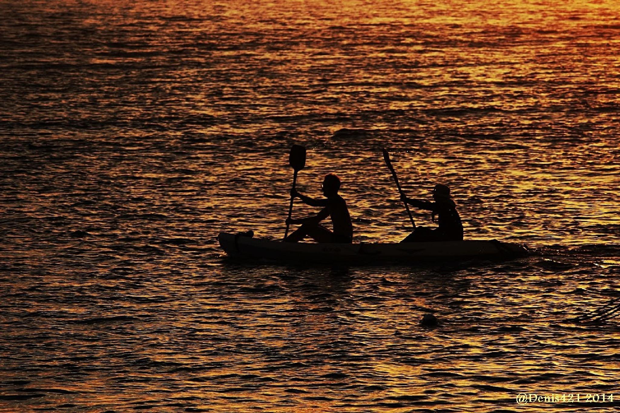 canoe Kayak by Denis Payet