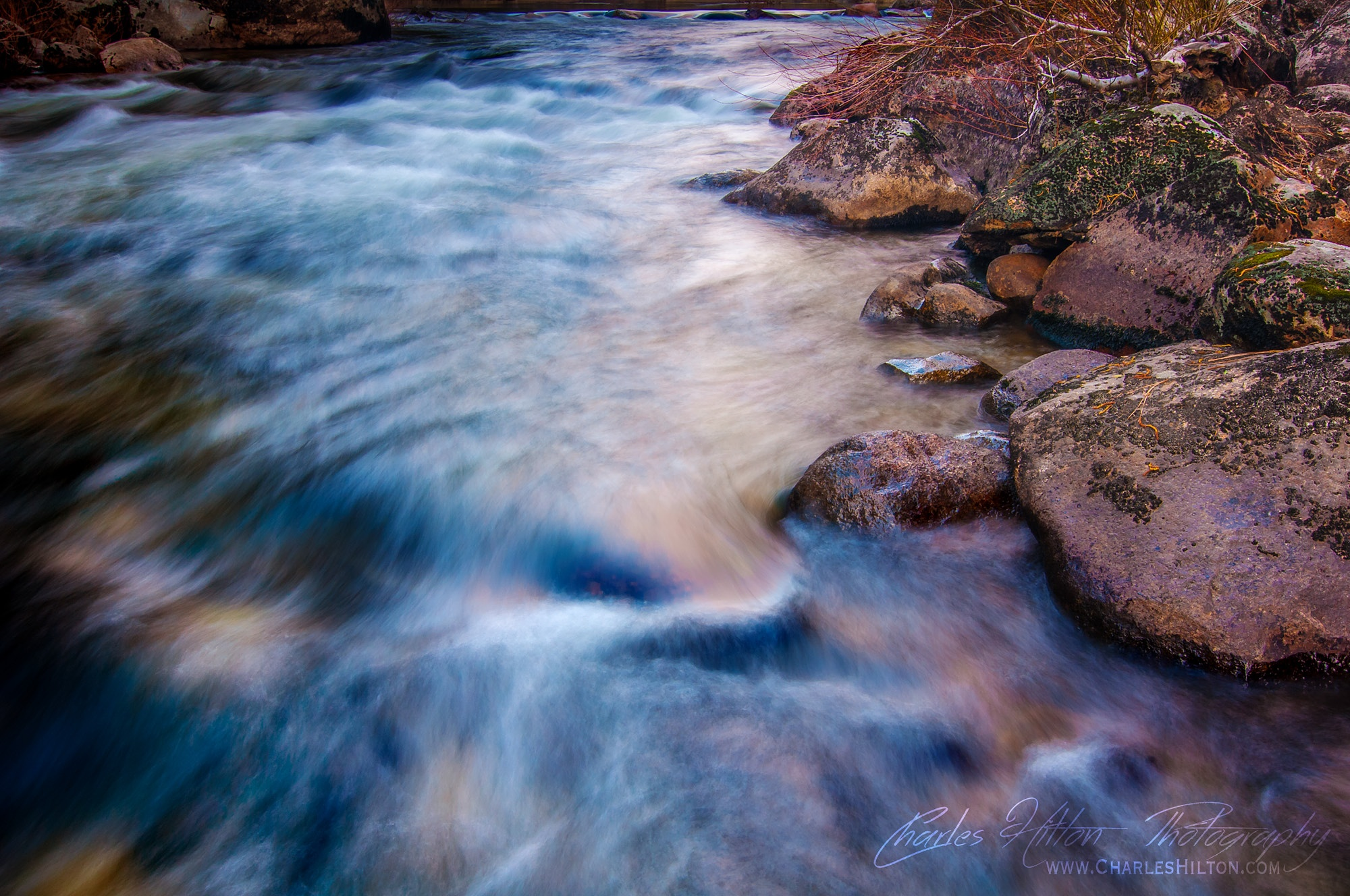 Soft Flowing by CharlesHilton