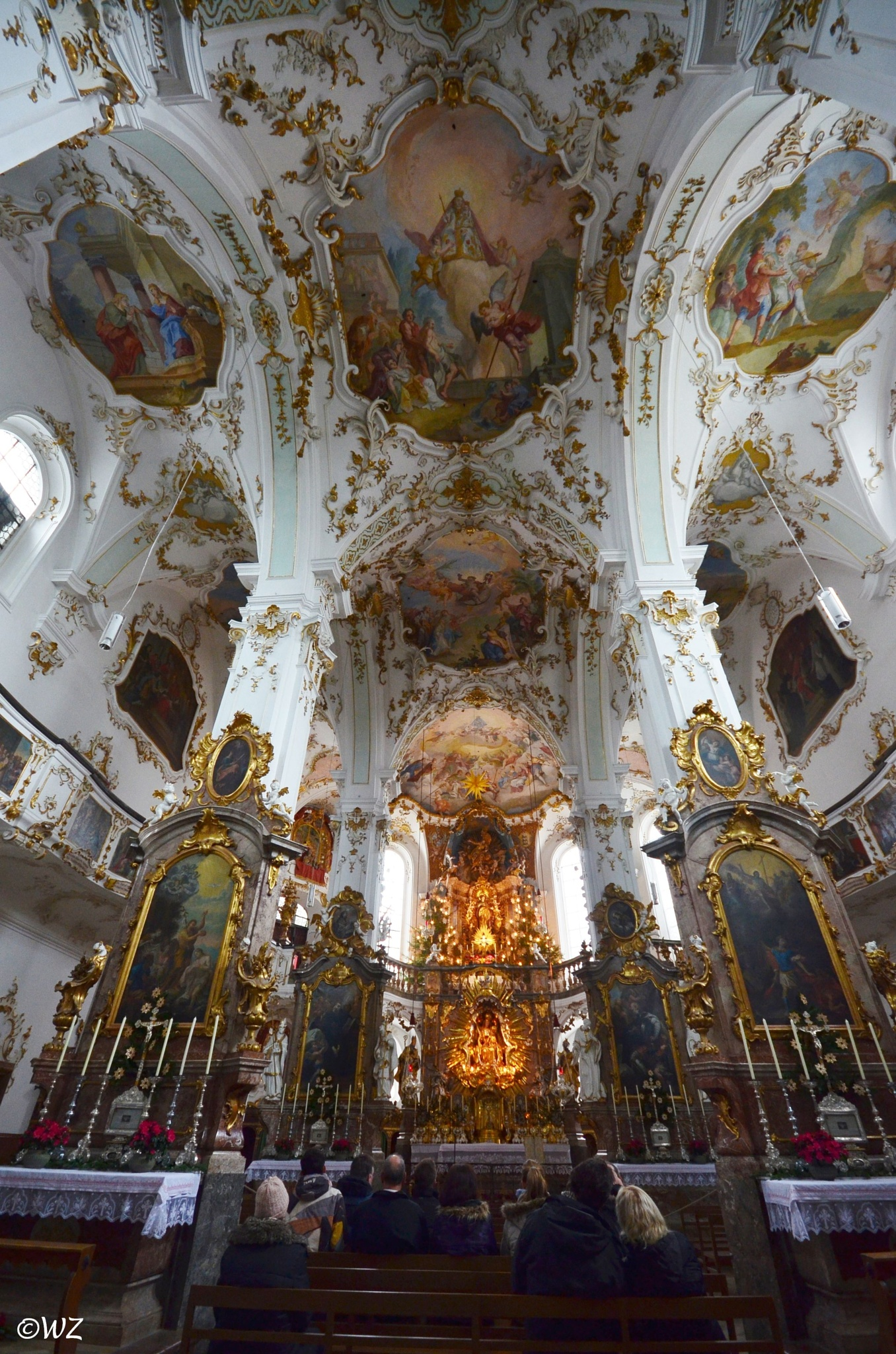 Klosterkirche Andechs by Walter Zangl