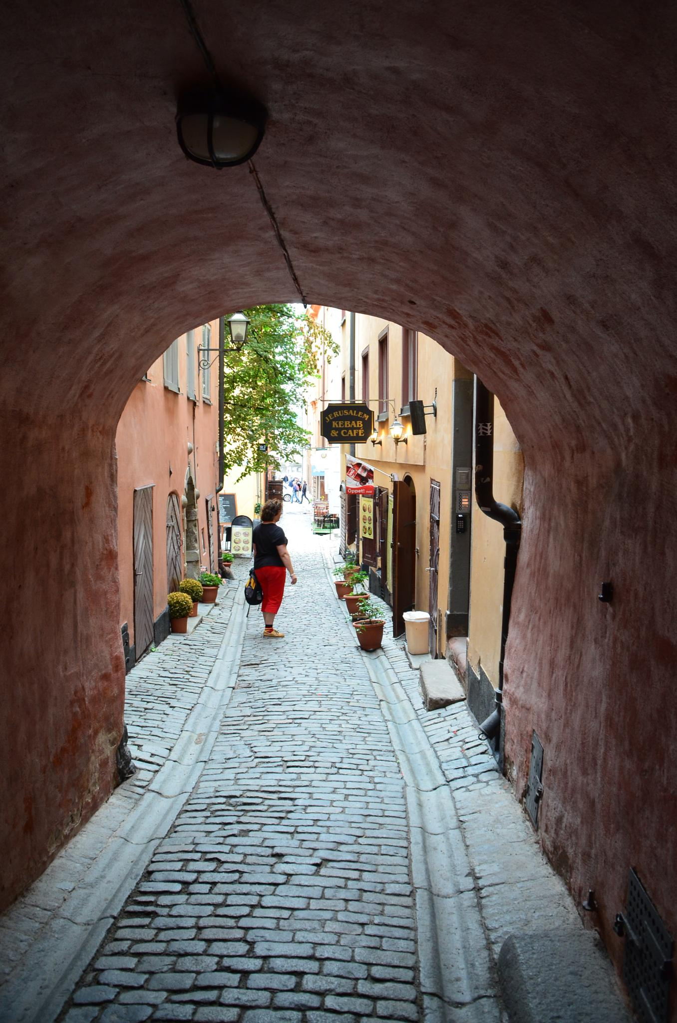 Stockholm - in the old town by Walter Zangl