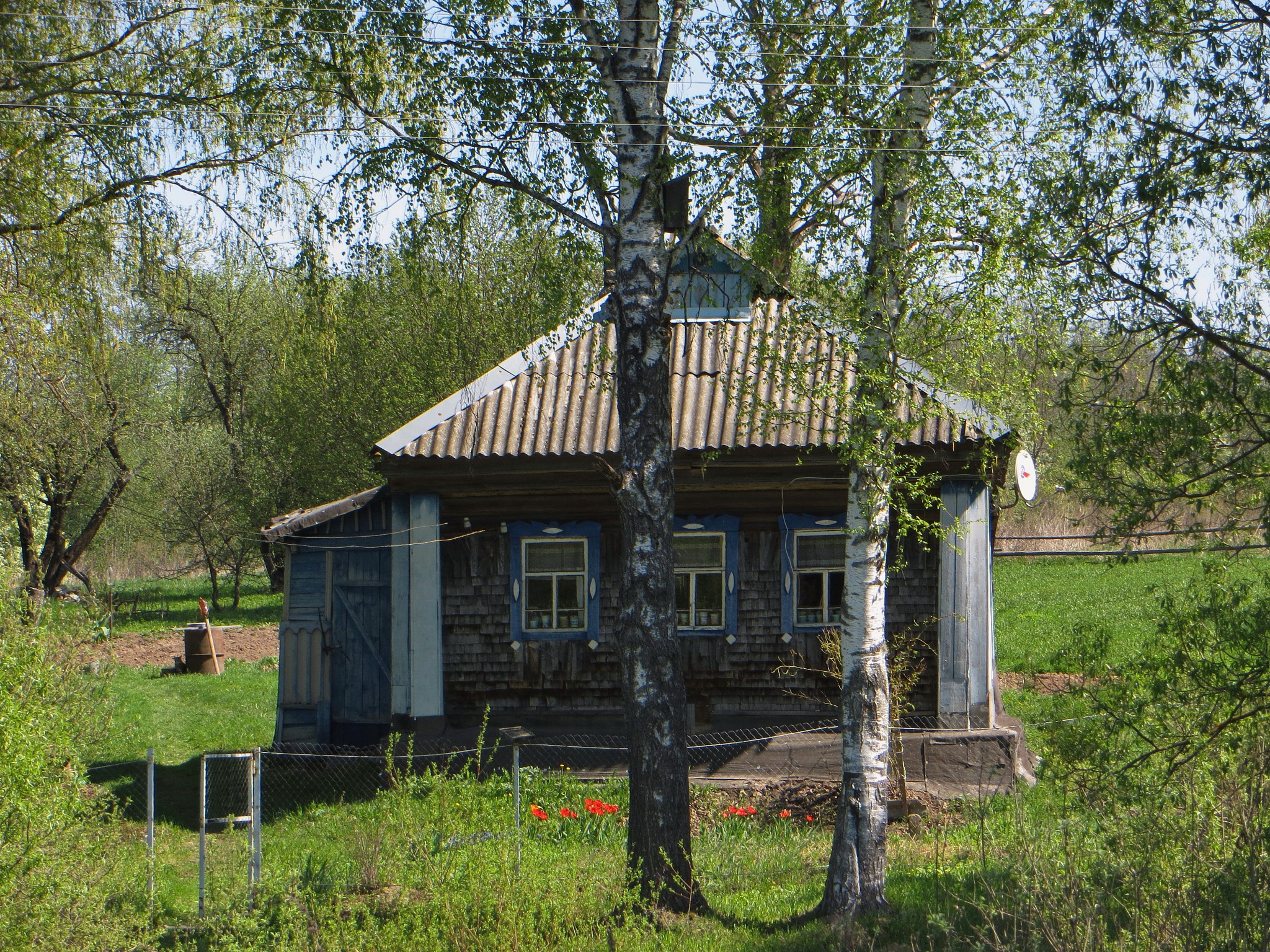 Russian ordinar rural house by Yurkoff Wladimir