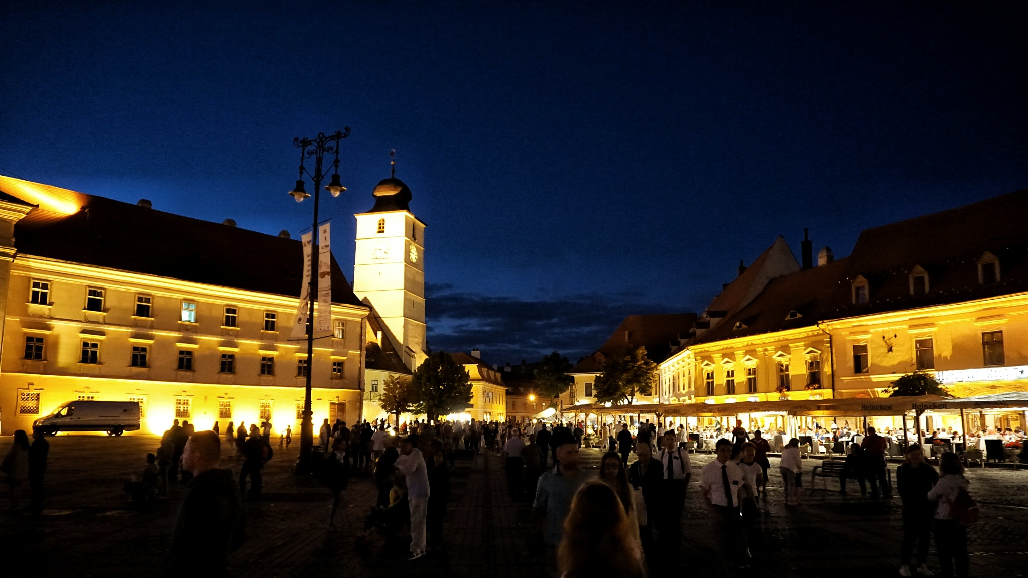 Sibiu by night by Costin0509