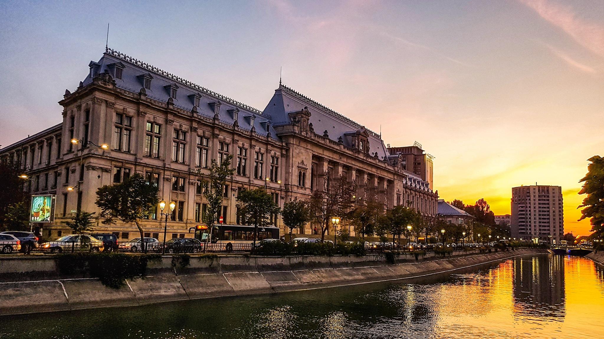 Bucharest old tribunal by Costin0509