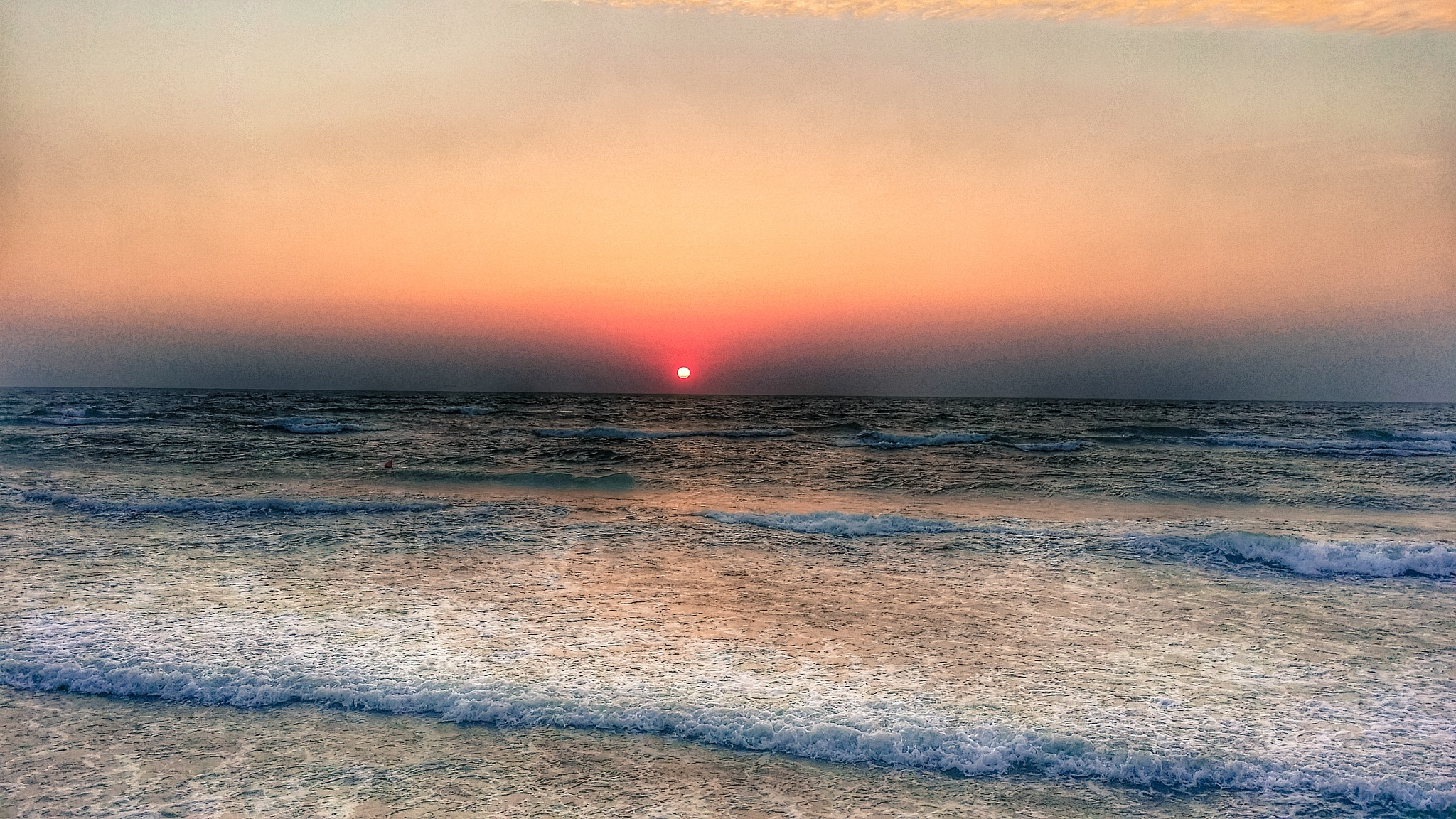 Sunrise by the sea by Costin0509