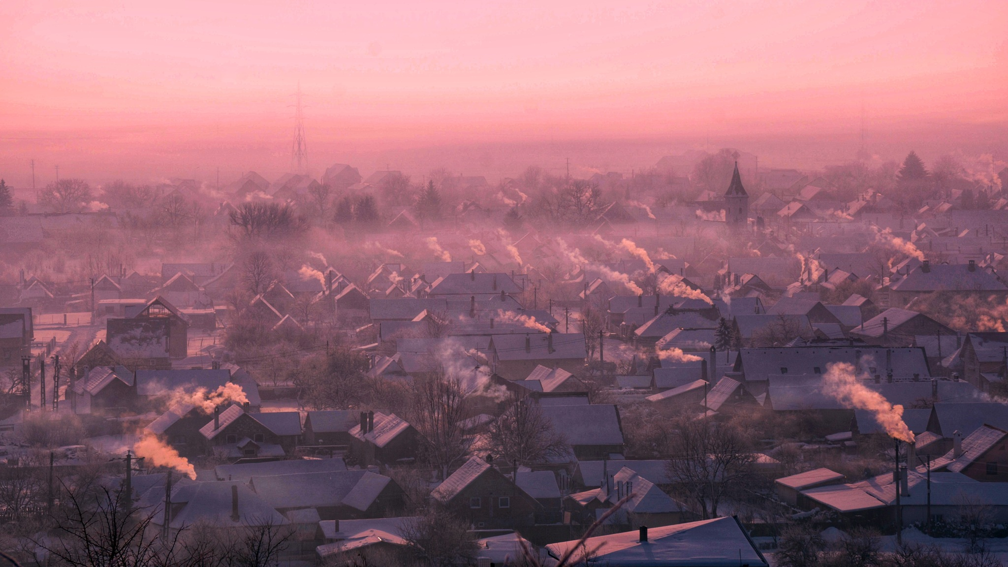 Red dawn by Costin0509