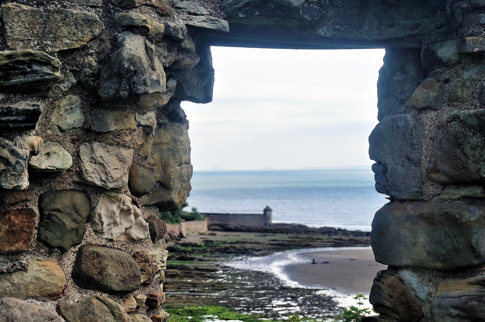 """""""View From Ravenscraig Castle"""" by Thania Wehmeyer"""