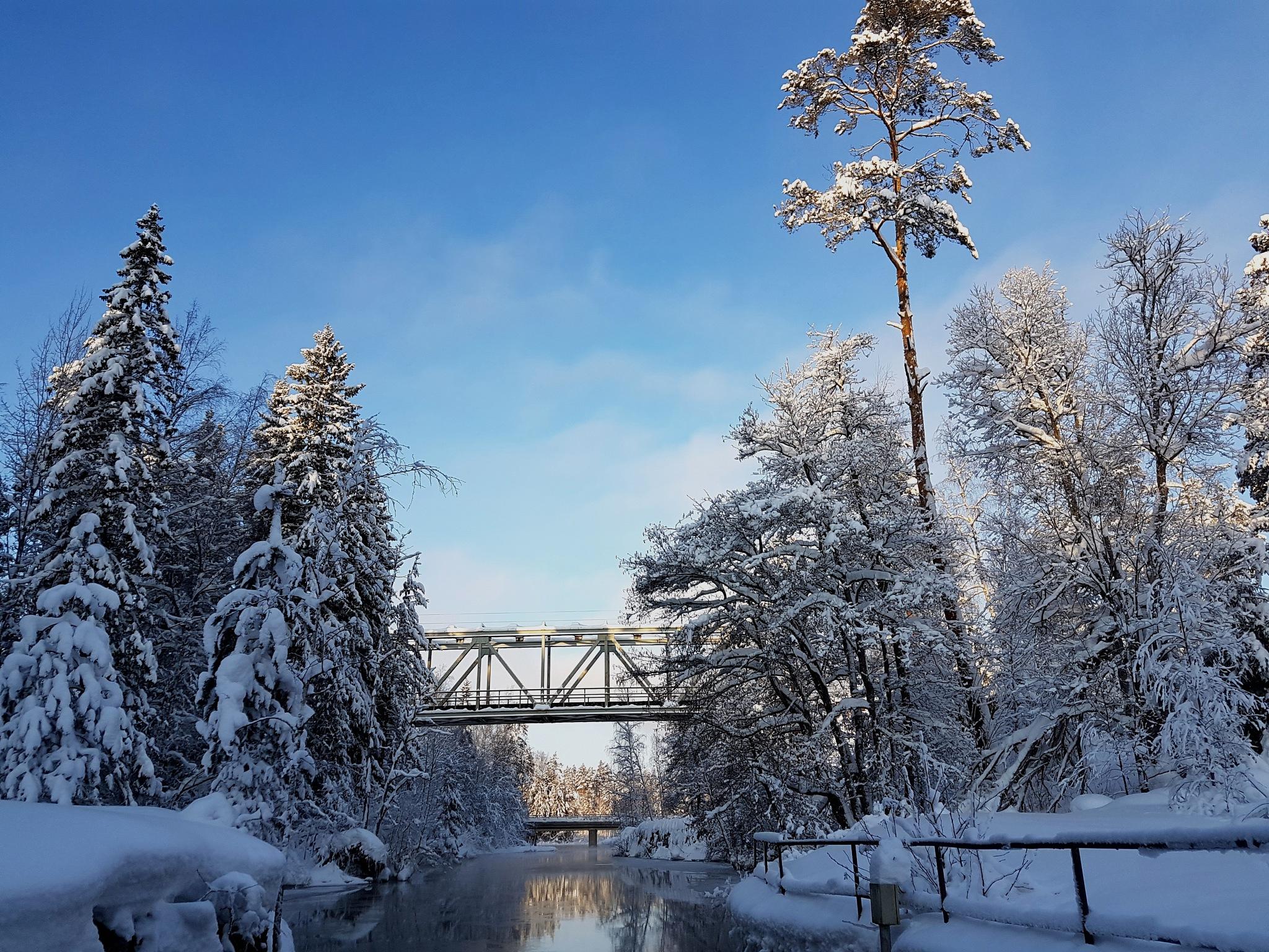 Kokkolanjoki, Finland by antsatykkylainen