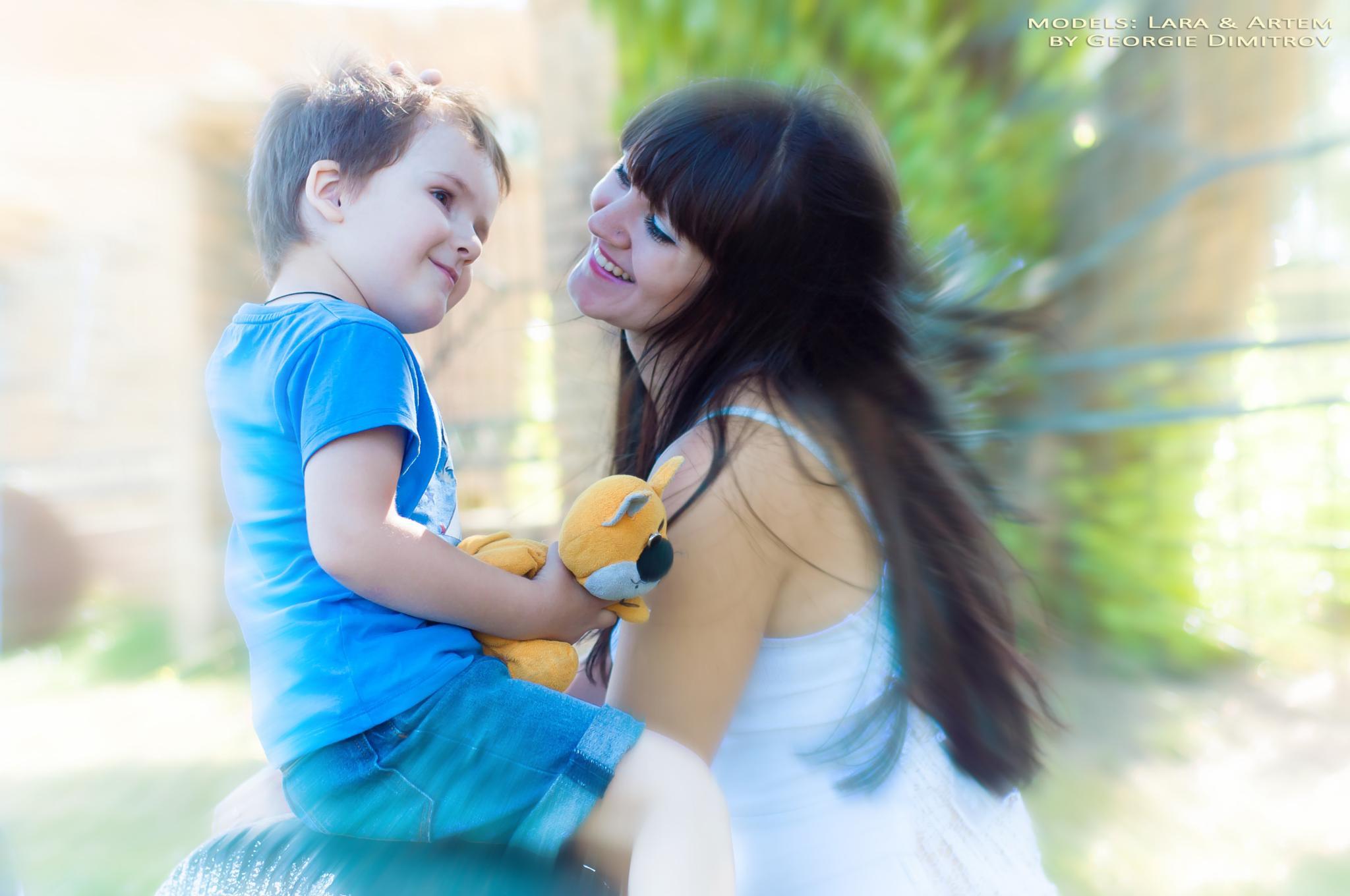 Mother's love by Georgie Dimitrov