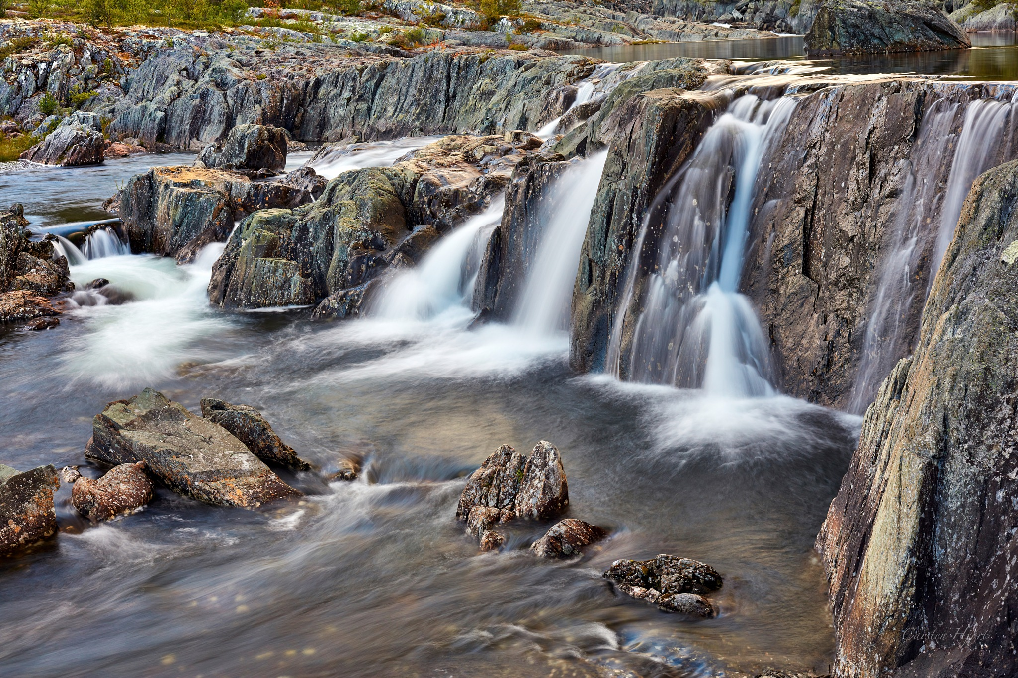 Long exposure Telemark by Carsten Hjort