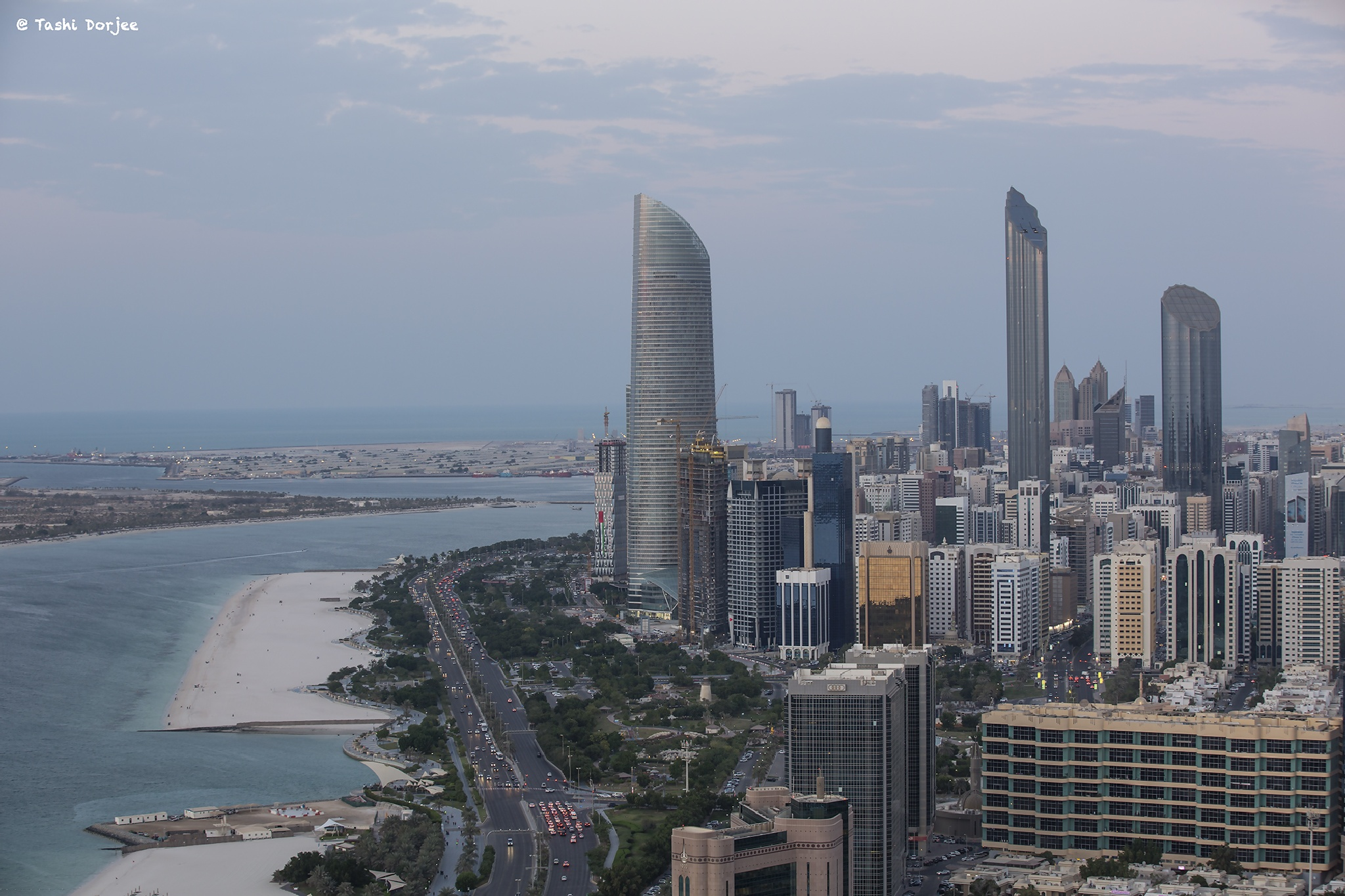 High Towers Abu Dhabi by Tibetravel Photography